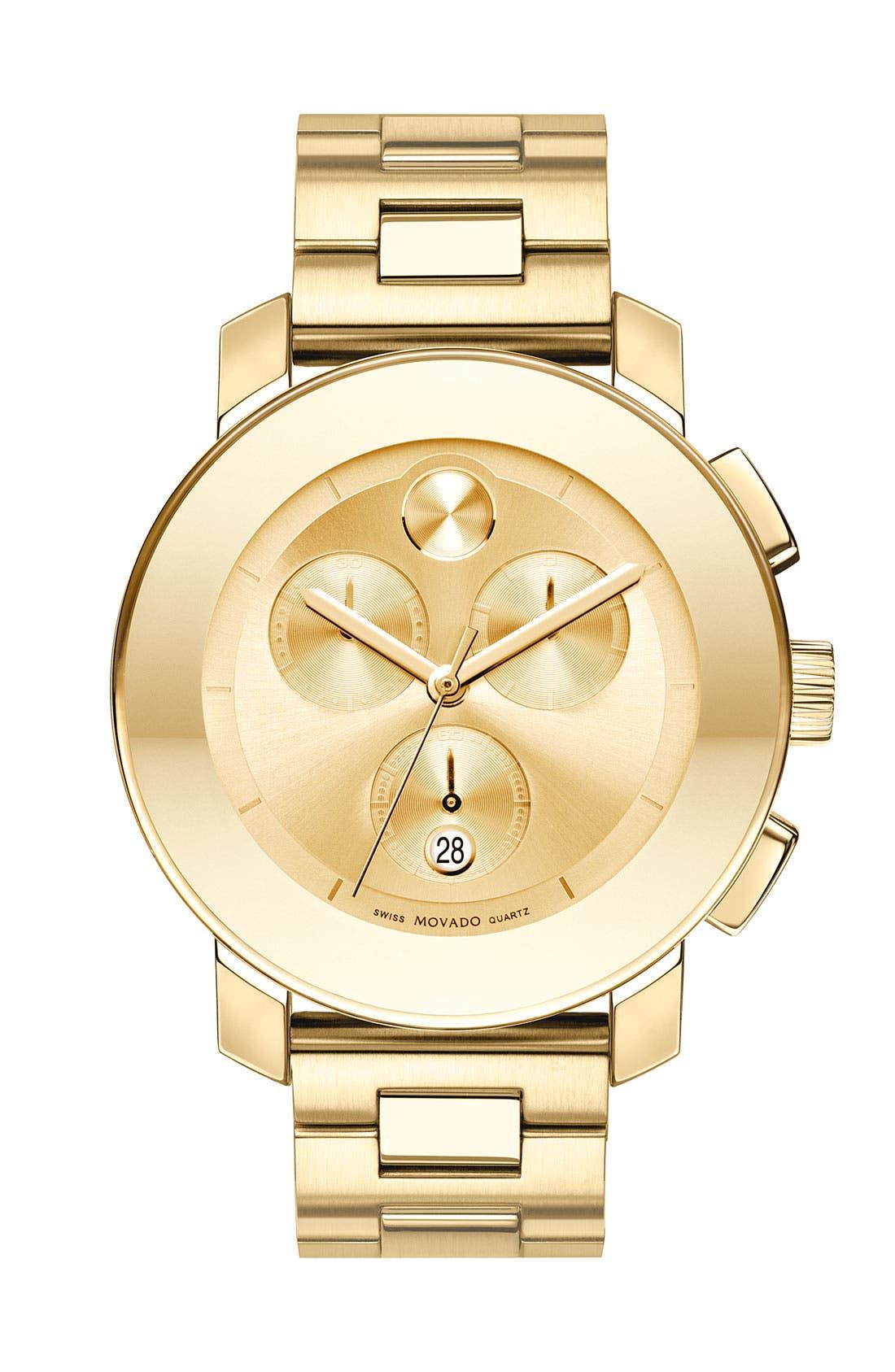 Alternate Image 1 Selected - Movado 'Bold Chronograph' Bracelet Watch