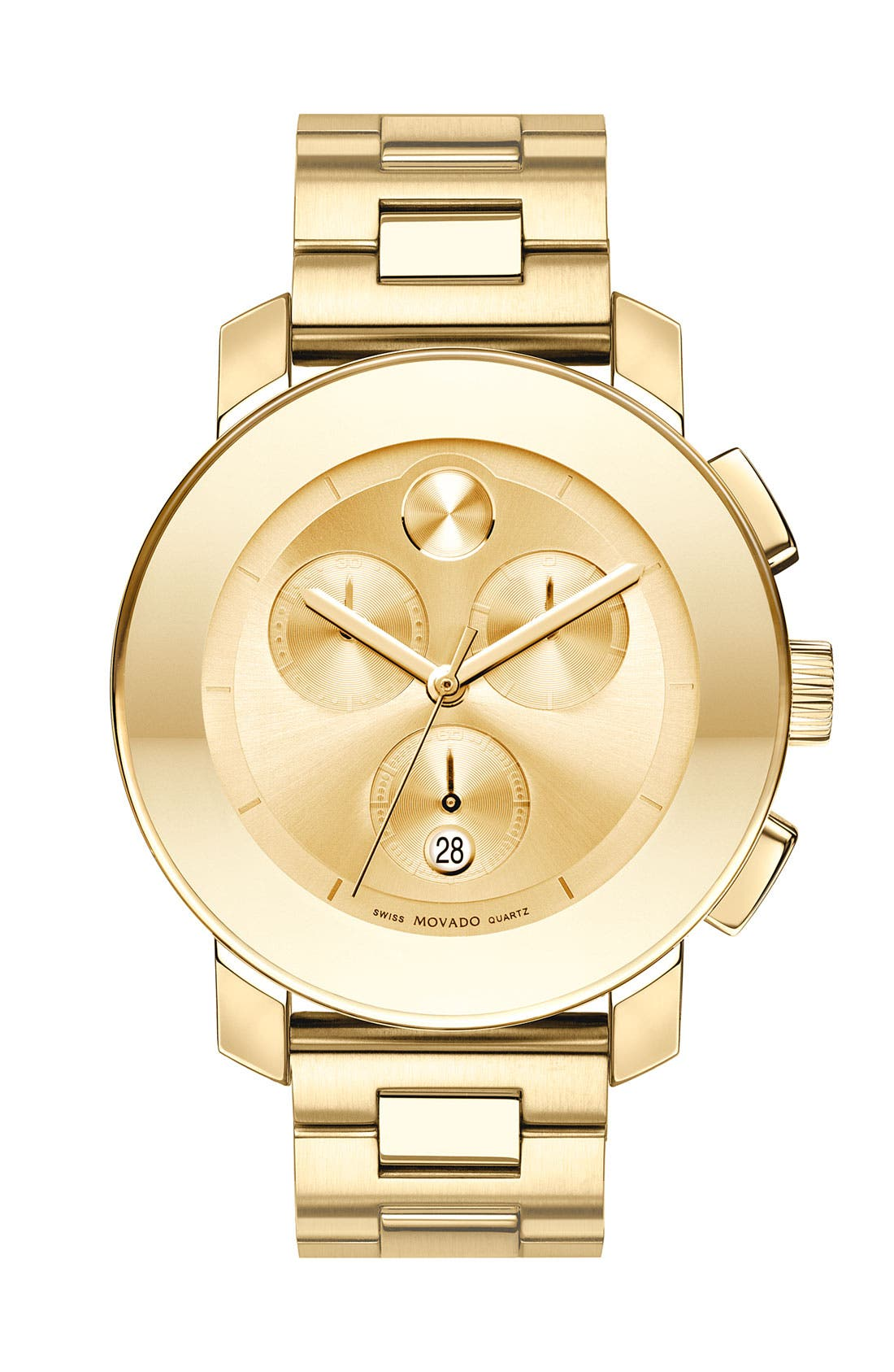 Main Image - Movado 'Bold Chronograph' Bracelet Watch