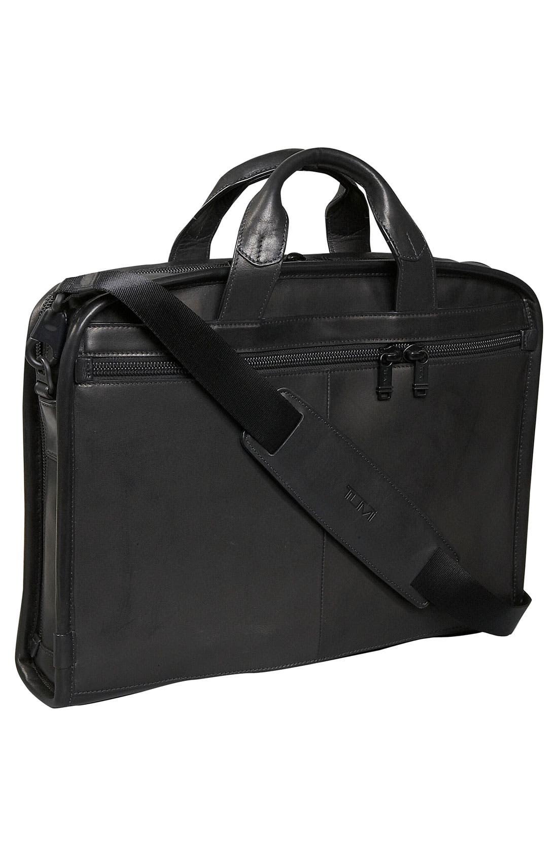 Alternate Image 2  - Tumi 'Alpha' Slim Large Screen Computer Portfolio Leather Briefcase