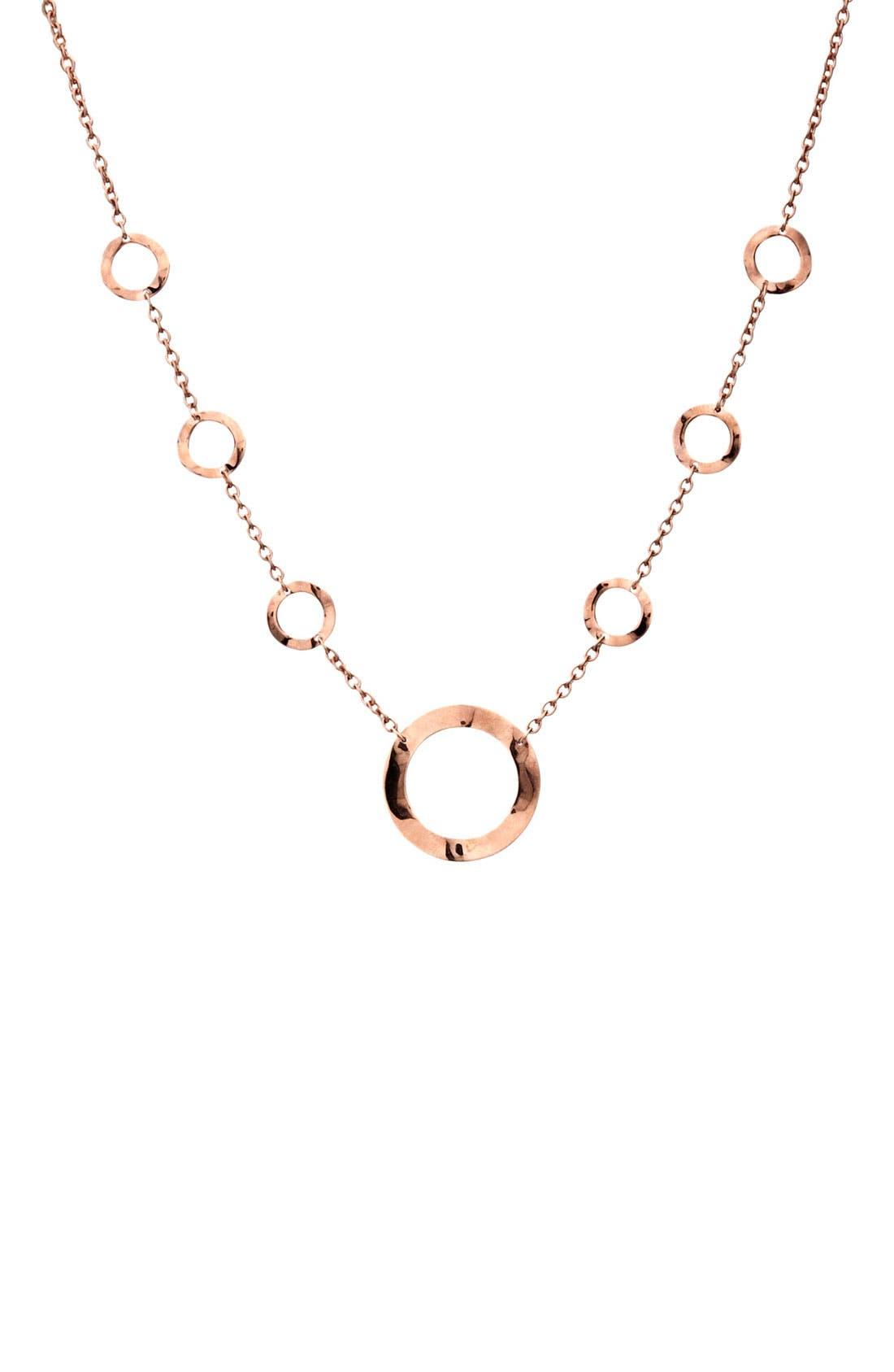 Alternate Image 1 Selected - Ippolita 'Lite Links' Rosé Circle Station Short Necklace
