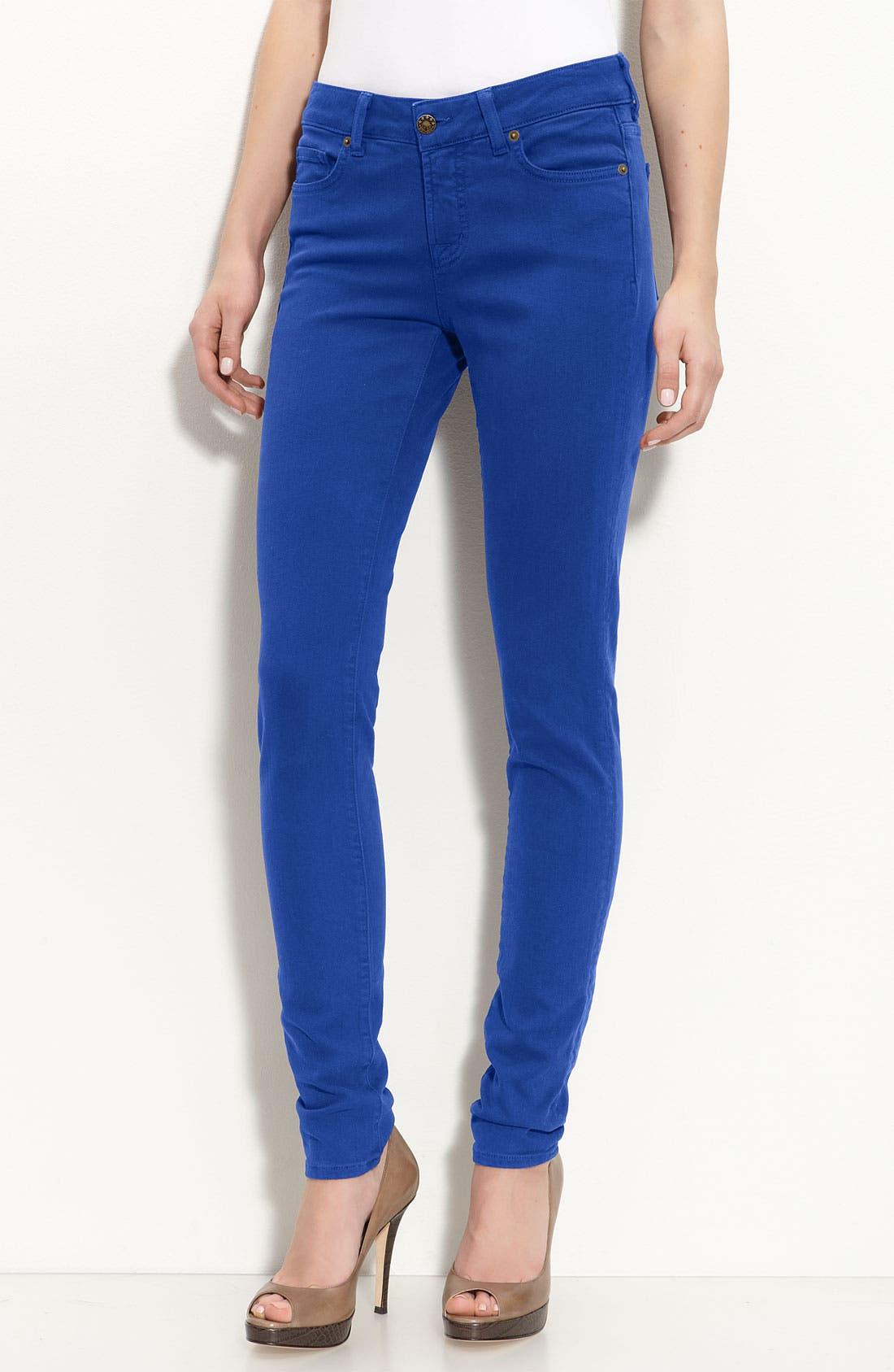 Alternate Image 1 Selected - Blue Essence Color Skinny Jeans (Nordstrom Exclusive)