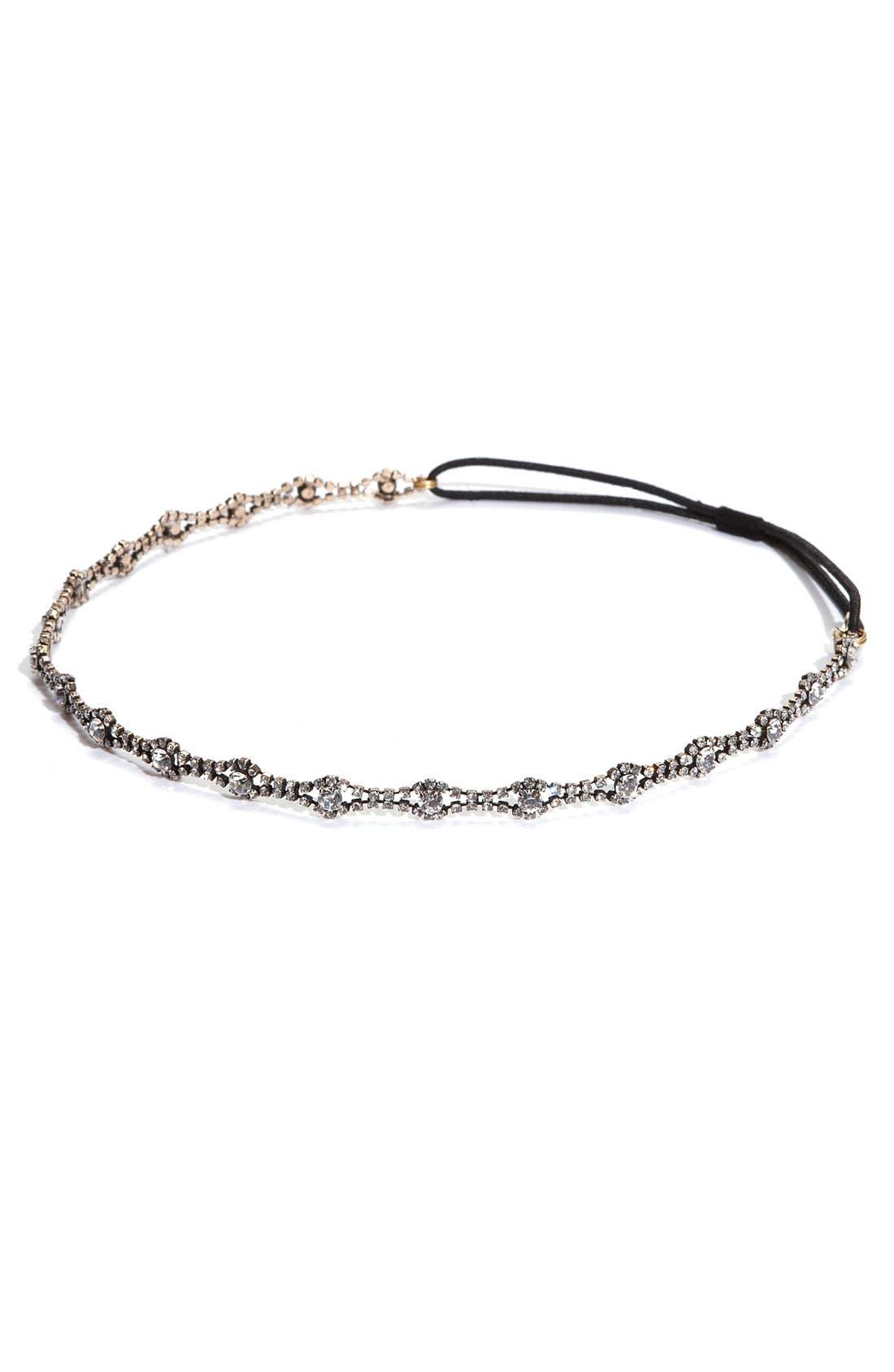 Main Image - Tasha Vintaged Crystal Headband