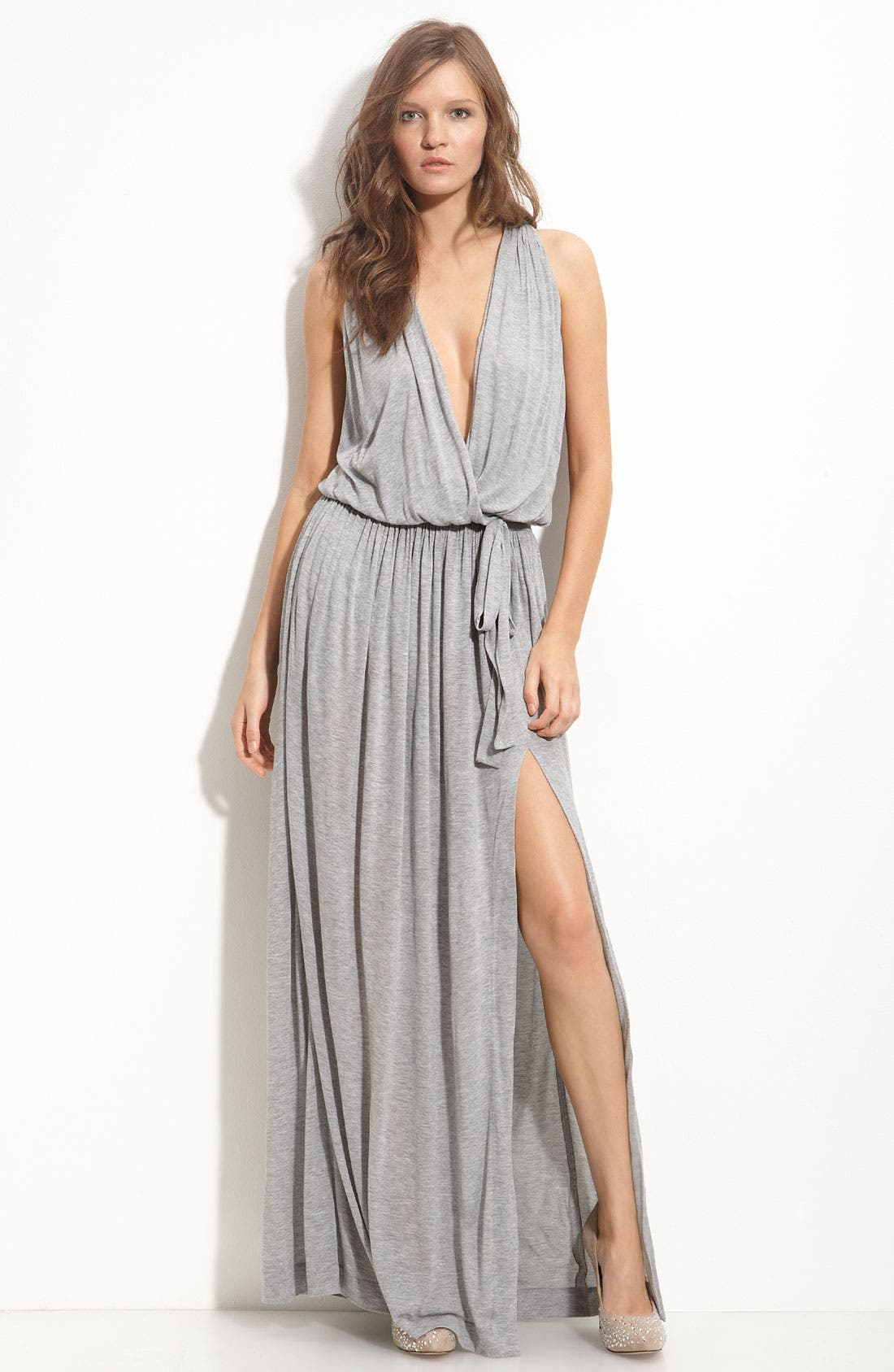 Alternate Image 1 Selected - Robert Rodriguez Faux Wrap Maxi Dress