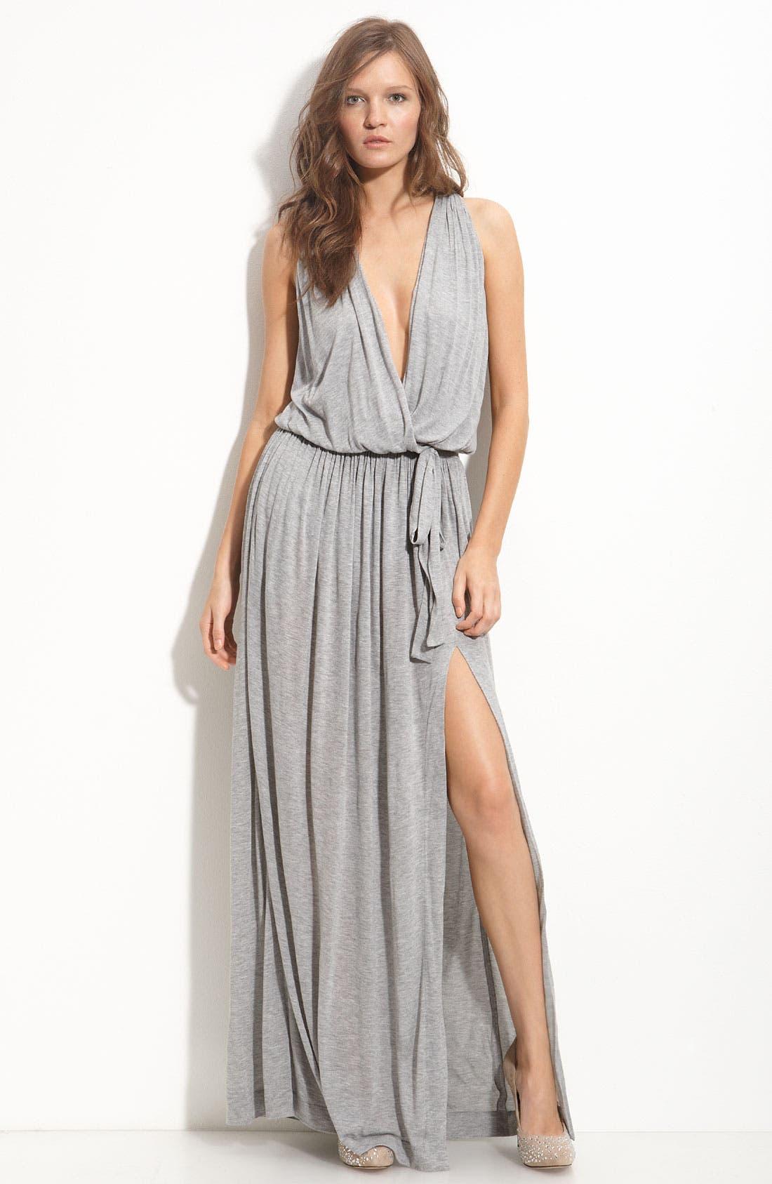 Main Image - Robert Rodriguez Faux Wrap Maxi Dress