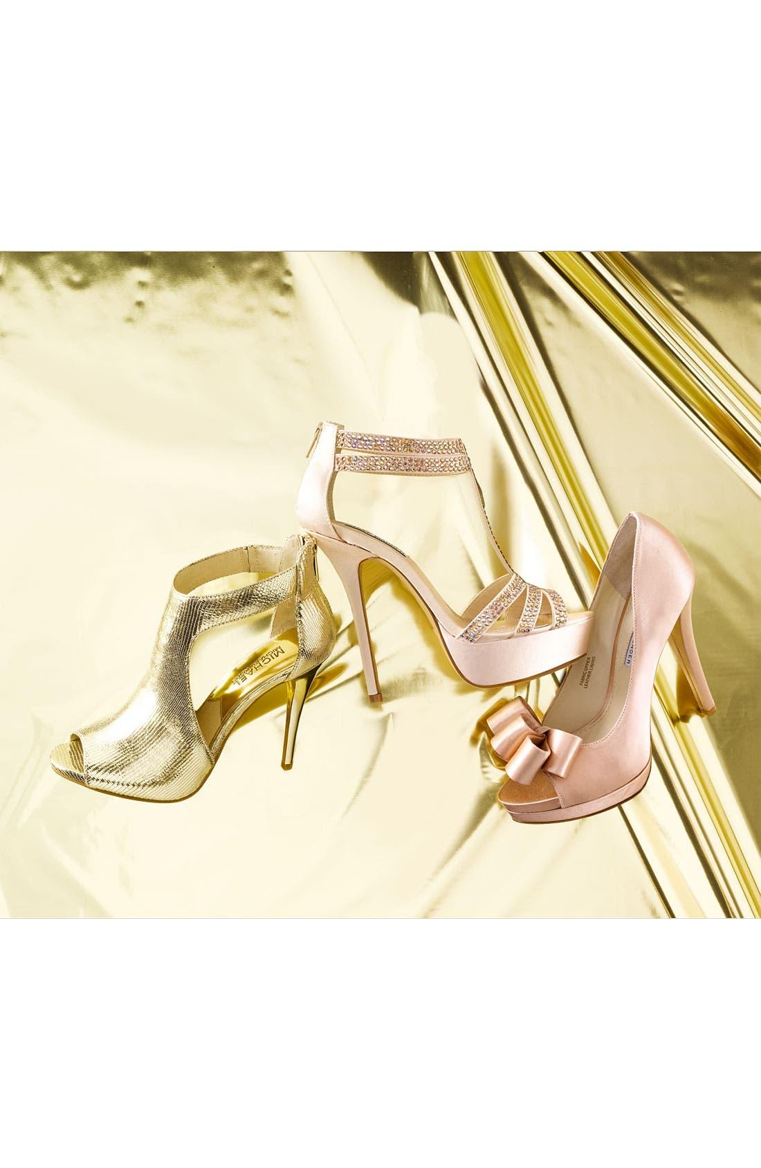 Alternate Image 5  - Vera Wang Footwear 'Sammy' Peep Toe Pump