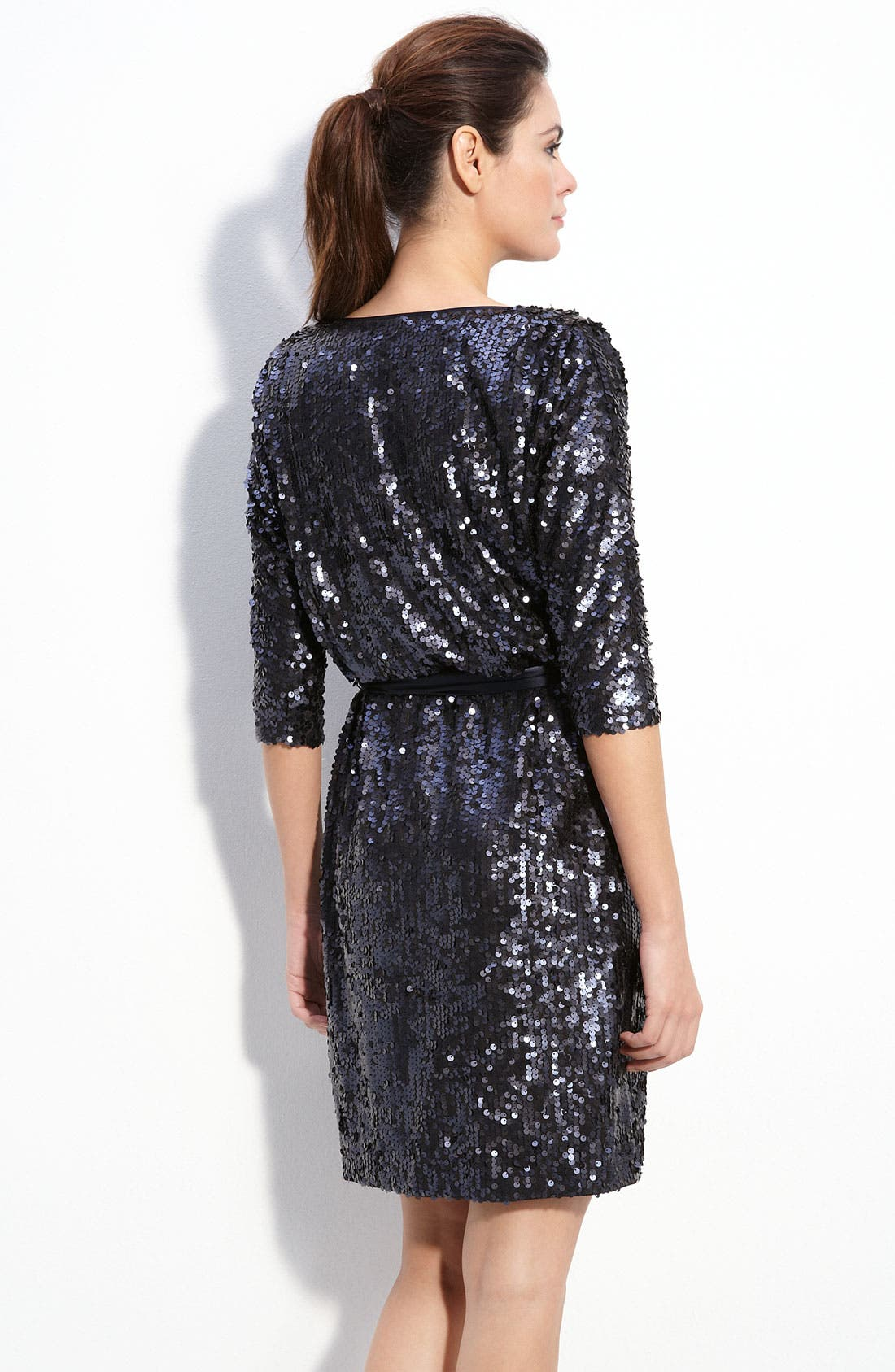 Alternate Image 2  - Eliza J Bloused Sequin Dress
