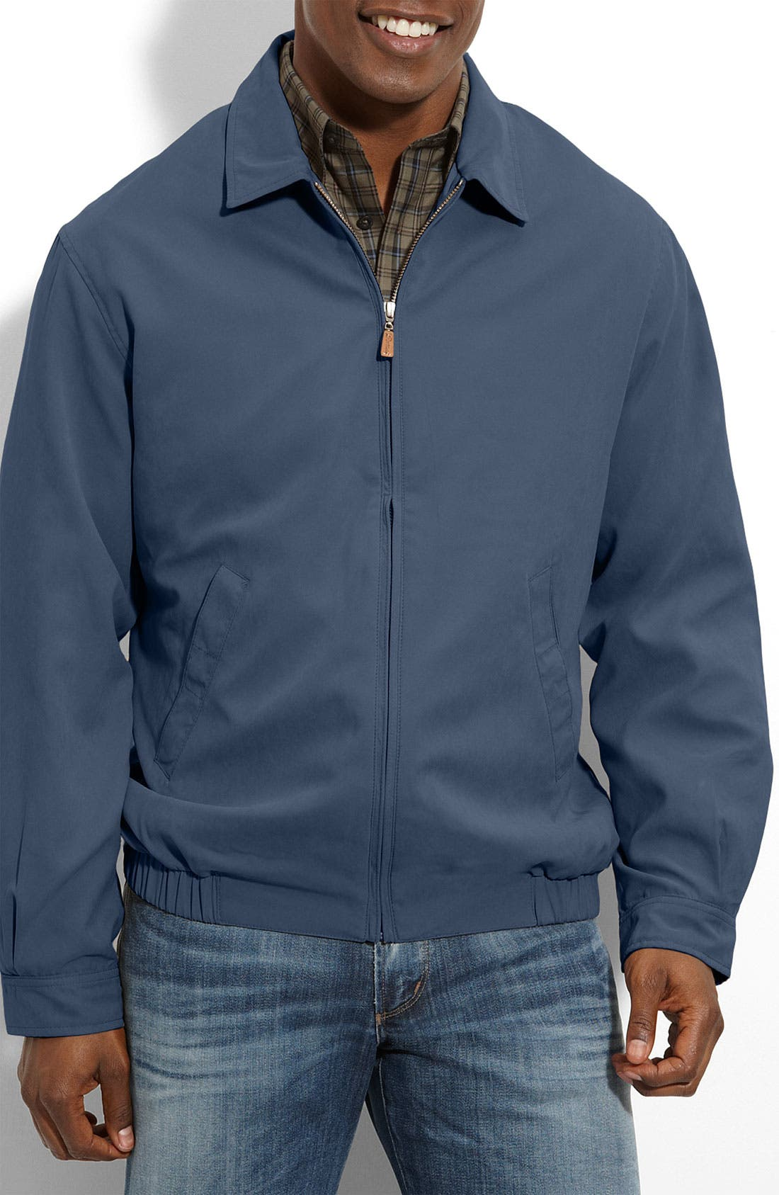 Alternate Image 1 Selected - Peter Millar Microfiber Bomber Jacket
