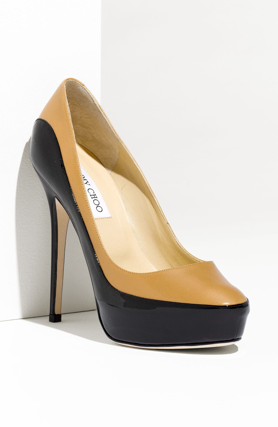 Alternate Image 1 Selected - Jimmy Choo 'Sepia' Two Tone Platform Pump