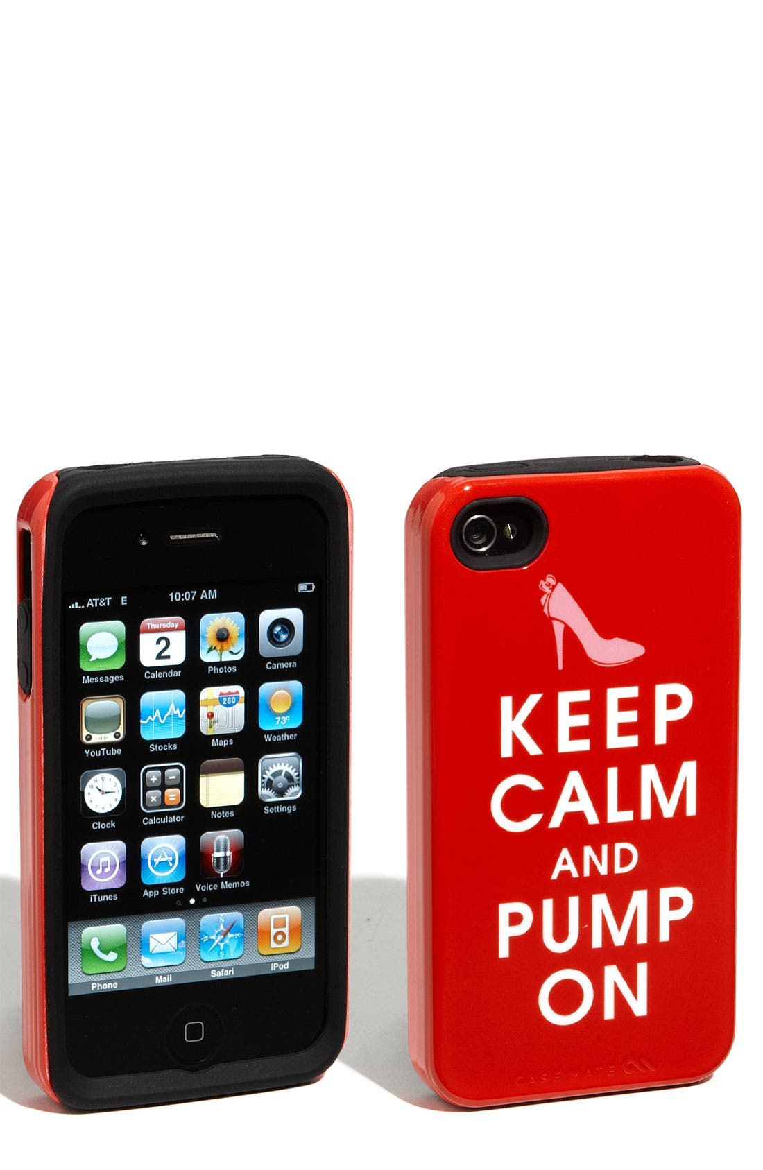Main Image - Case-Mate® 'Keep Calm and Pump On' iPhone 4 & 4S Case