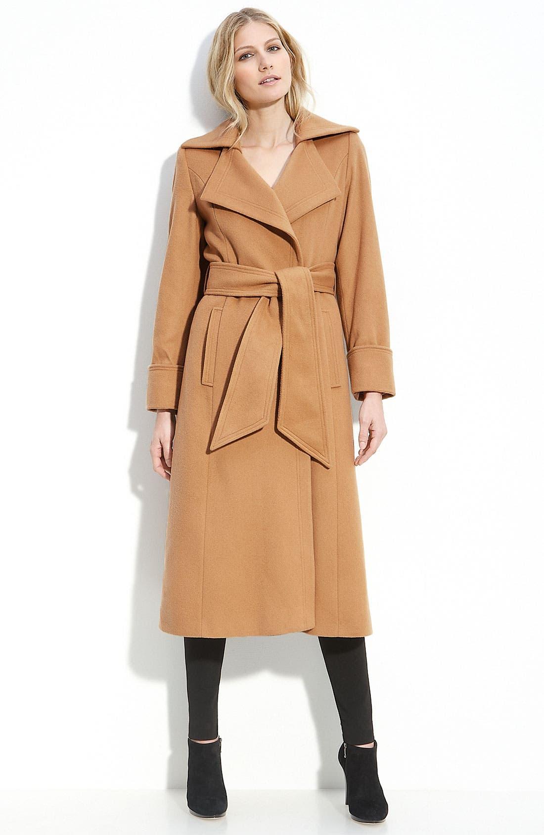 Main Image - George Simonton Couture Long Wrap Coat