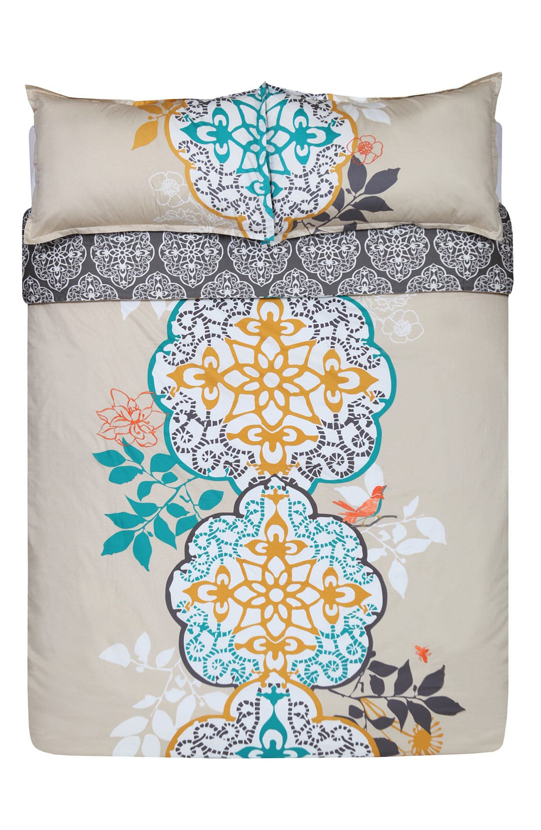 Alternate Image 1 Selected - Blissliving Home 'Shangri-La' 300 Thread Count Duvet Set