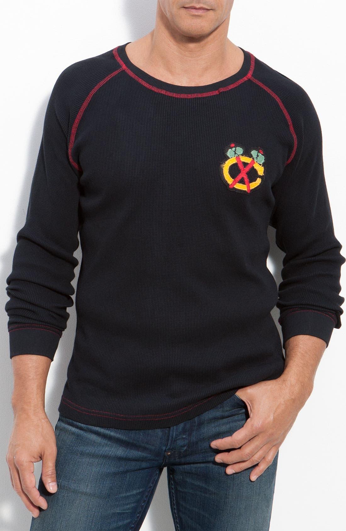 Alternate Image 1 Selected - Red Jacket 'Fahrenheit - Chicago Blackhawks' Thermal T-Shirt