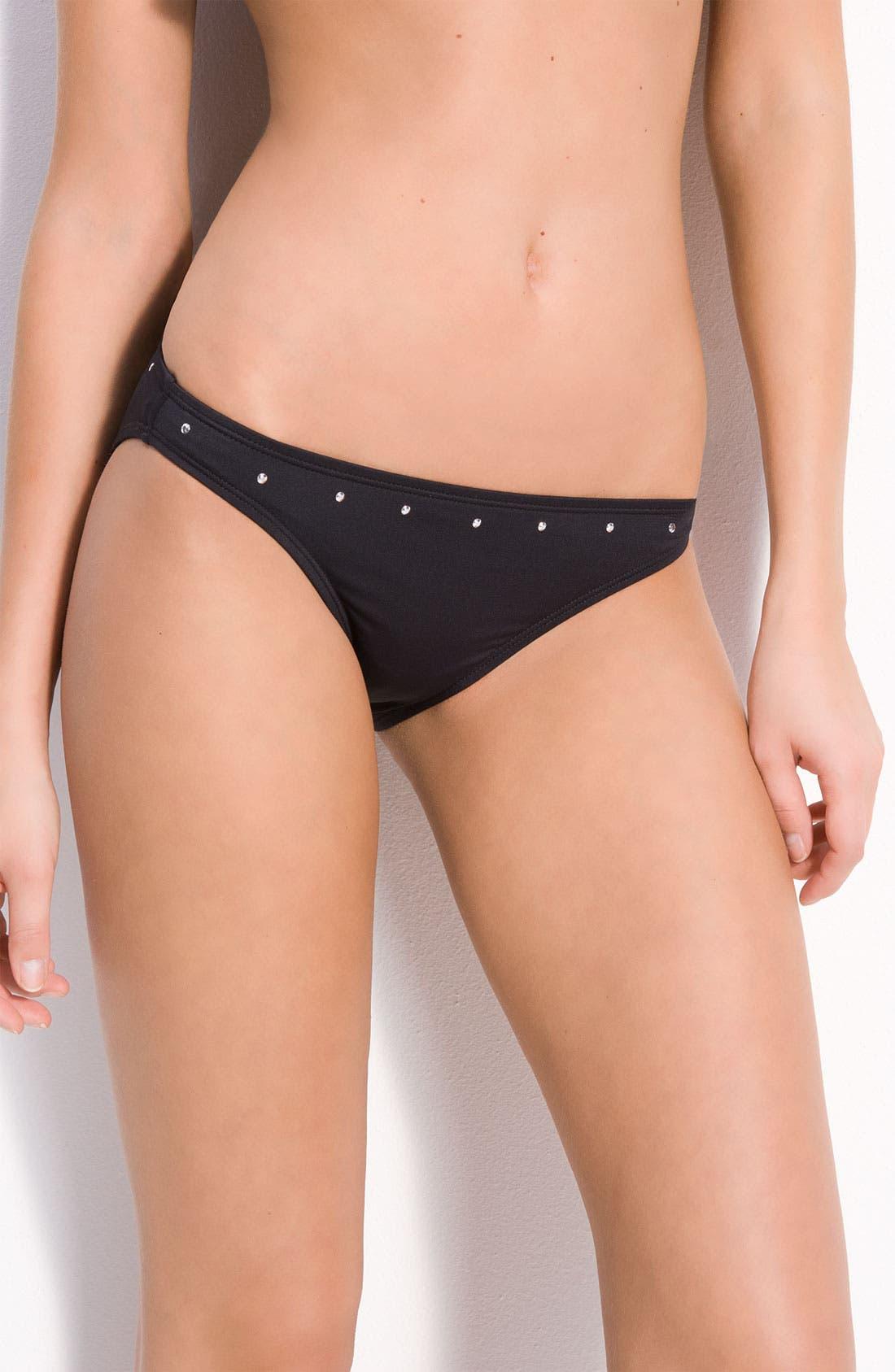Alternate Image 1 Selected - MICHAEL Michael Kors 'Skinny' Bikini Bottoms