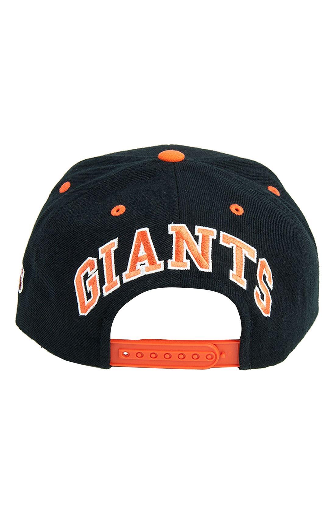 Alternate Image 2  - American Needle 'Blockhead Giants' Snapback Baseball Cap