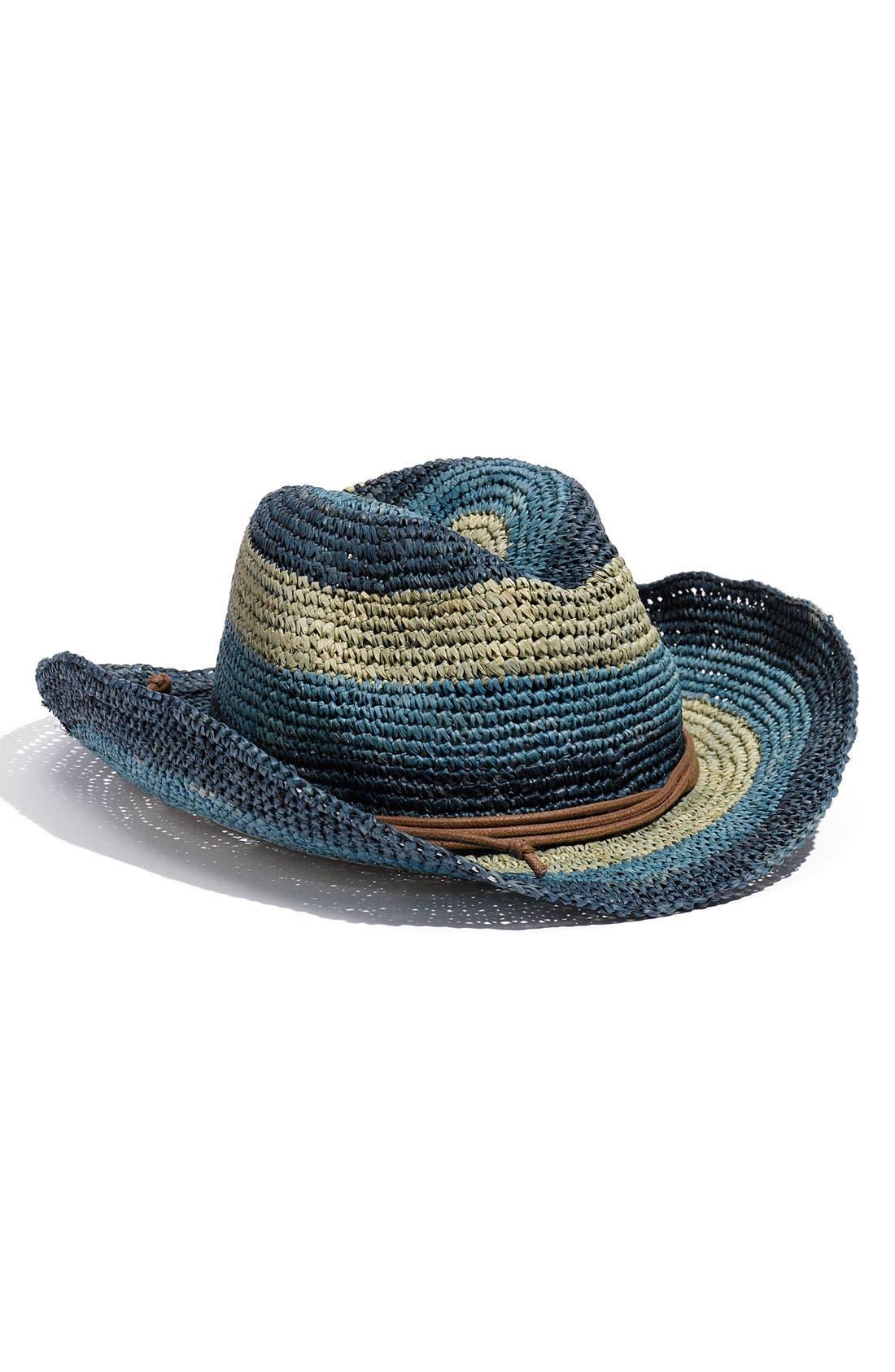 Main Image - Tarnish Stripe Cowboy Hat
