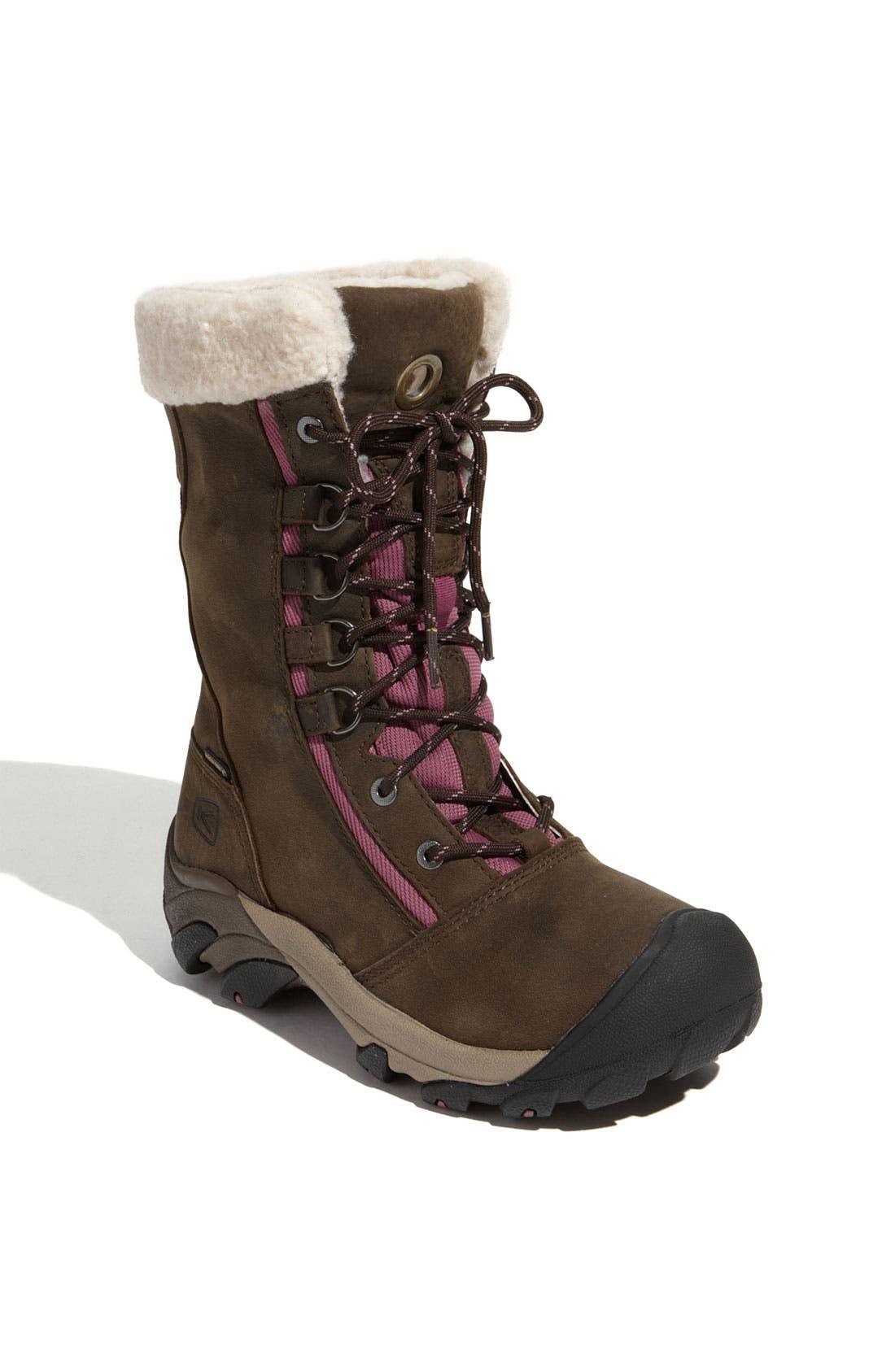 Alternate Image 1 Selected - Keen 'Hoodoo' Waterproof Nubuck Leather Boot