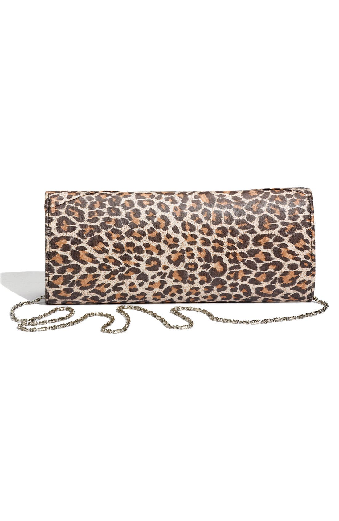 Alternate Image 3  - Top Choice Leopard Print Embellished Bow Clutch