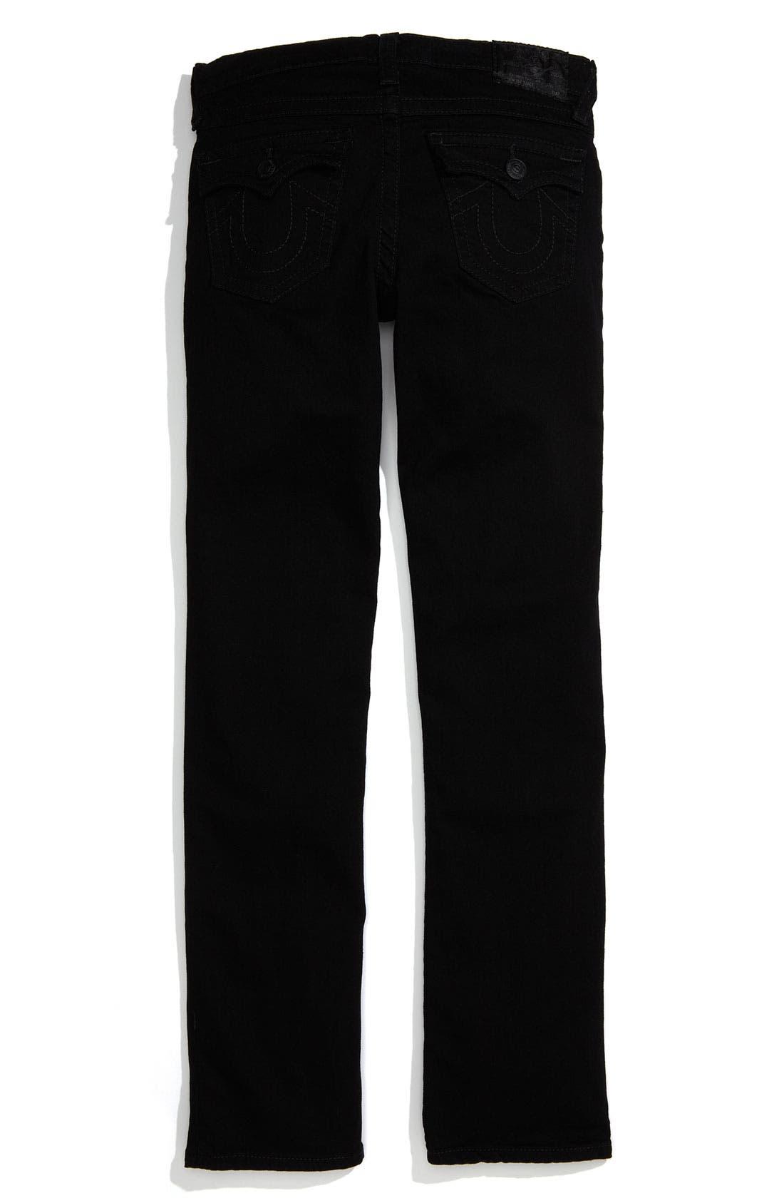Alternate Image 1 Selected - True Religion Brand Jeans 'Jack' Straight Leg Jeans (Little Boys)