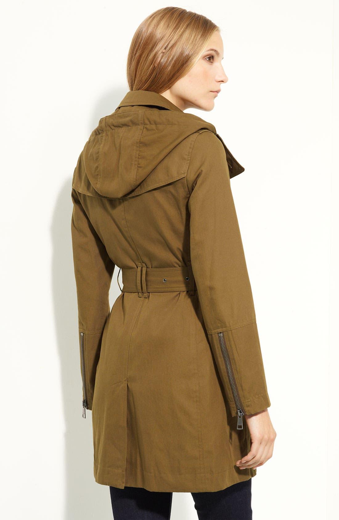 Alternate Image 2  - Burberry Brit Raincoat