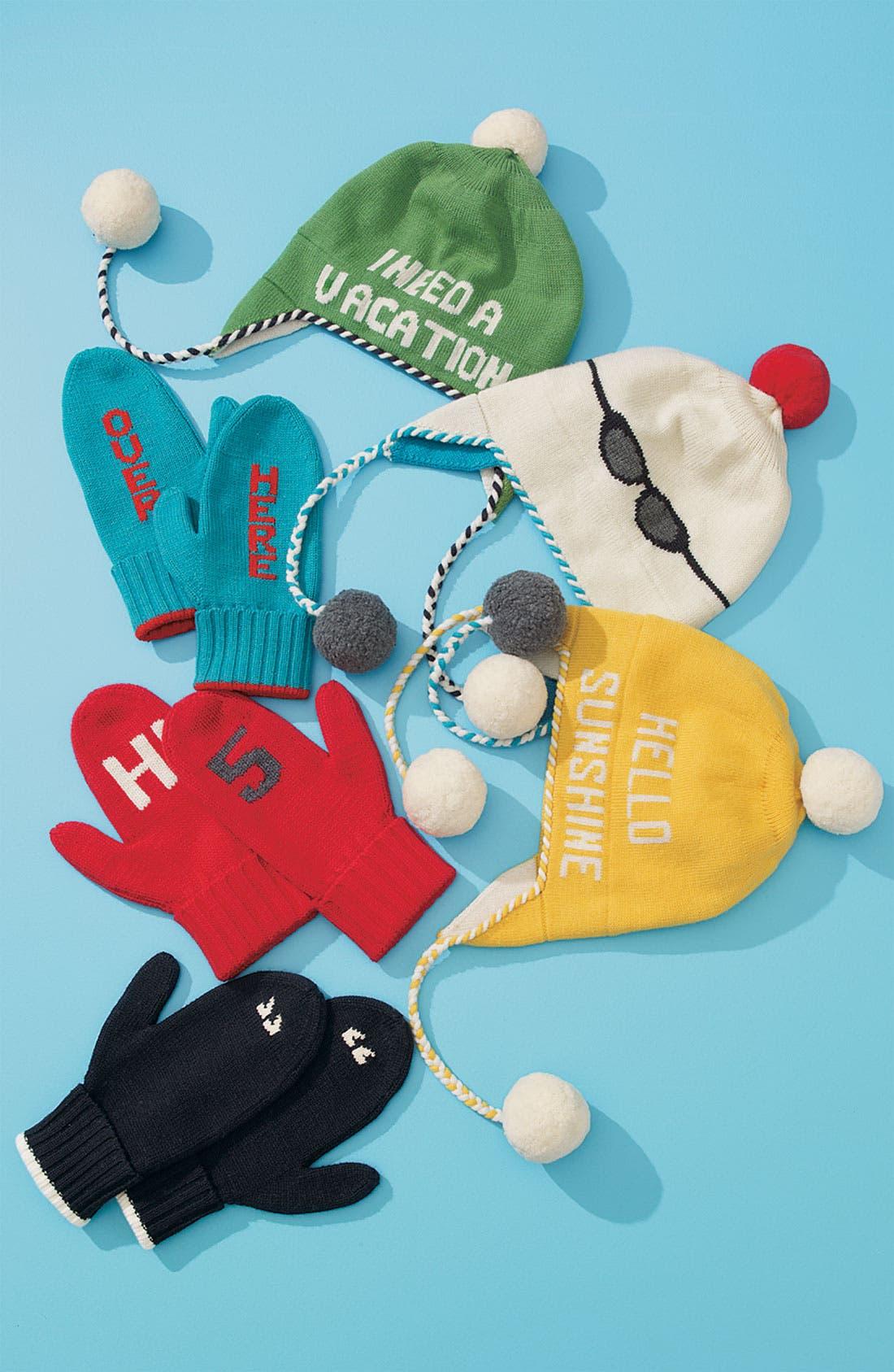 Alternate Image 2  - kate spade new york 'over here' mittens