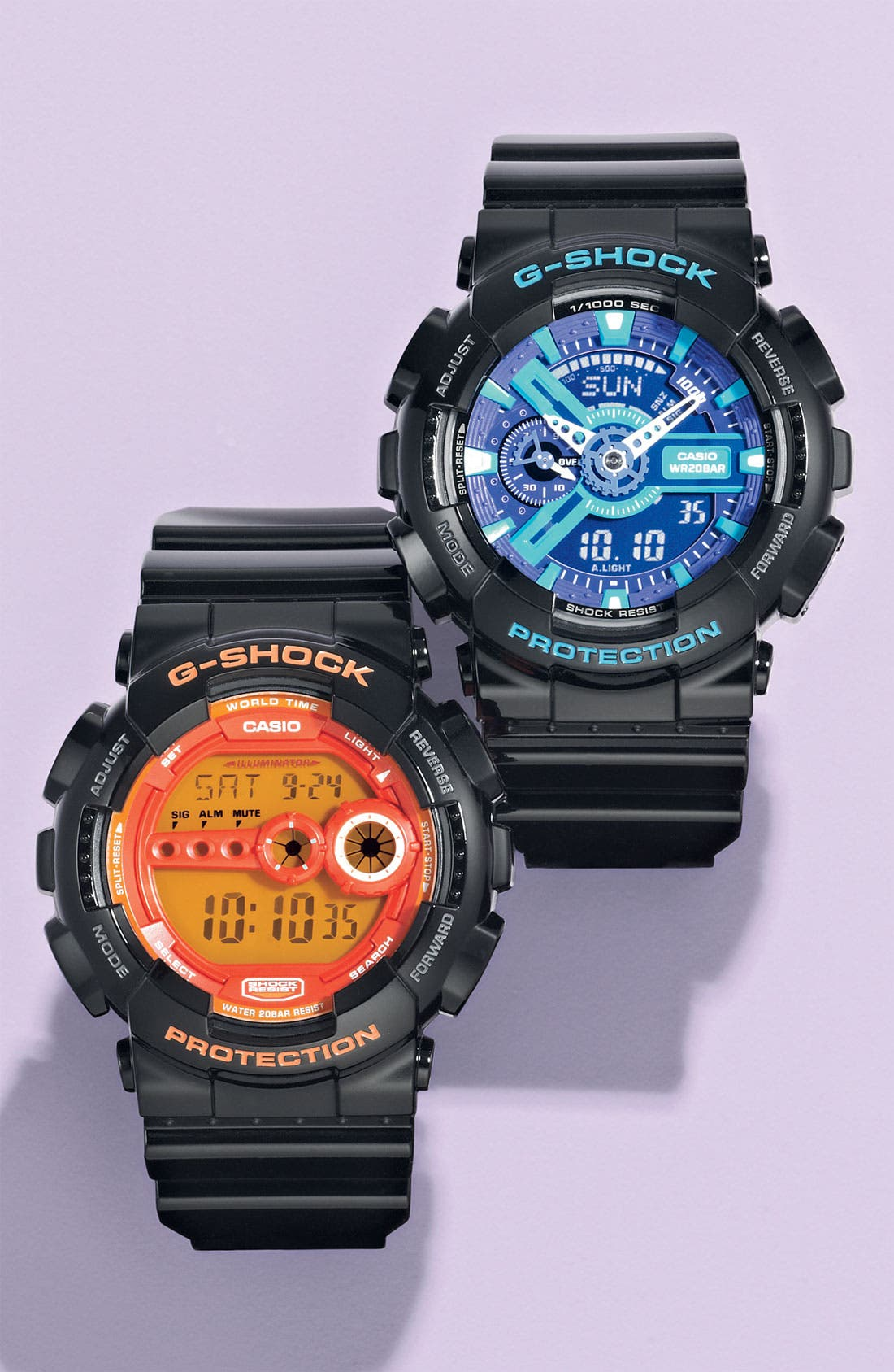 Alternate Image 2  - G-Shock 'Super Luminosity' Digital Watch, 48mm
