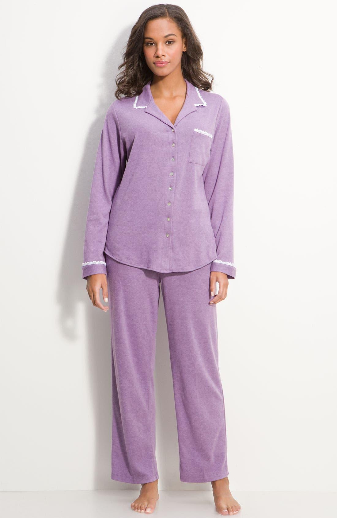 Alternate Image 1 Selected - Eileen West 'Sugar Plum' Pajama Set