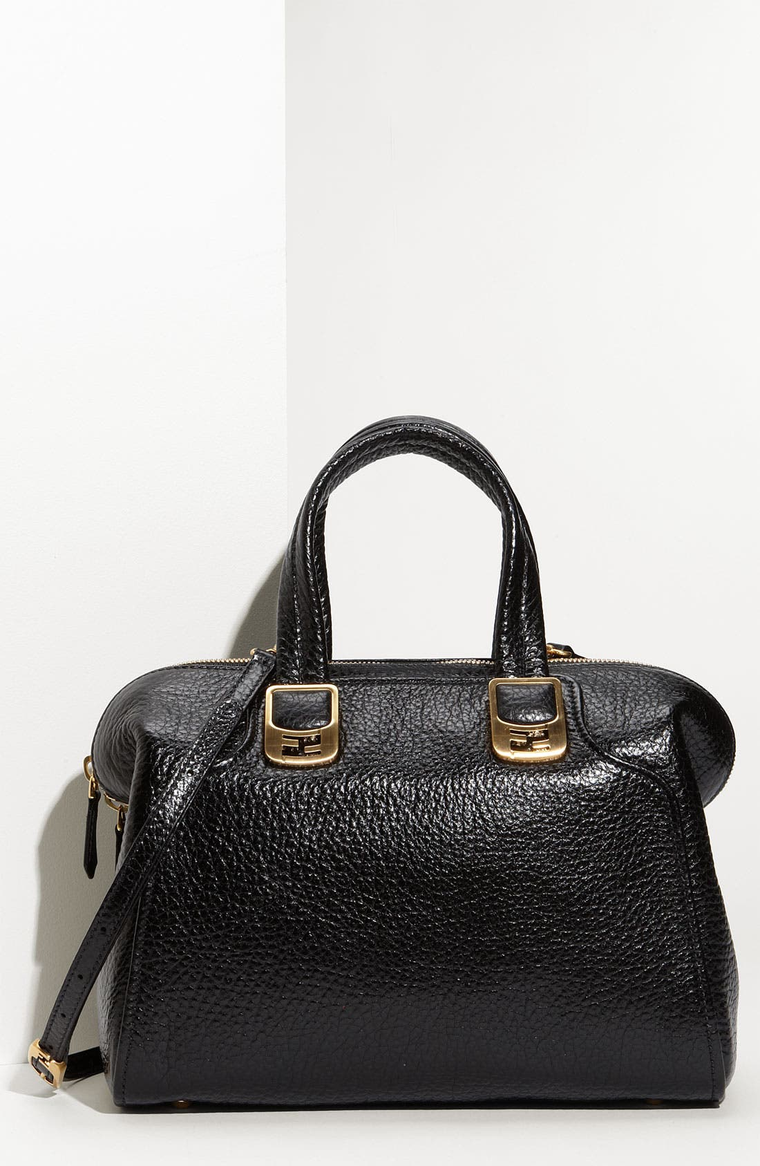 Alternate Image 1 Selected - Fendi 'Chameleon - Small' Leather Tote