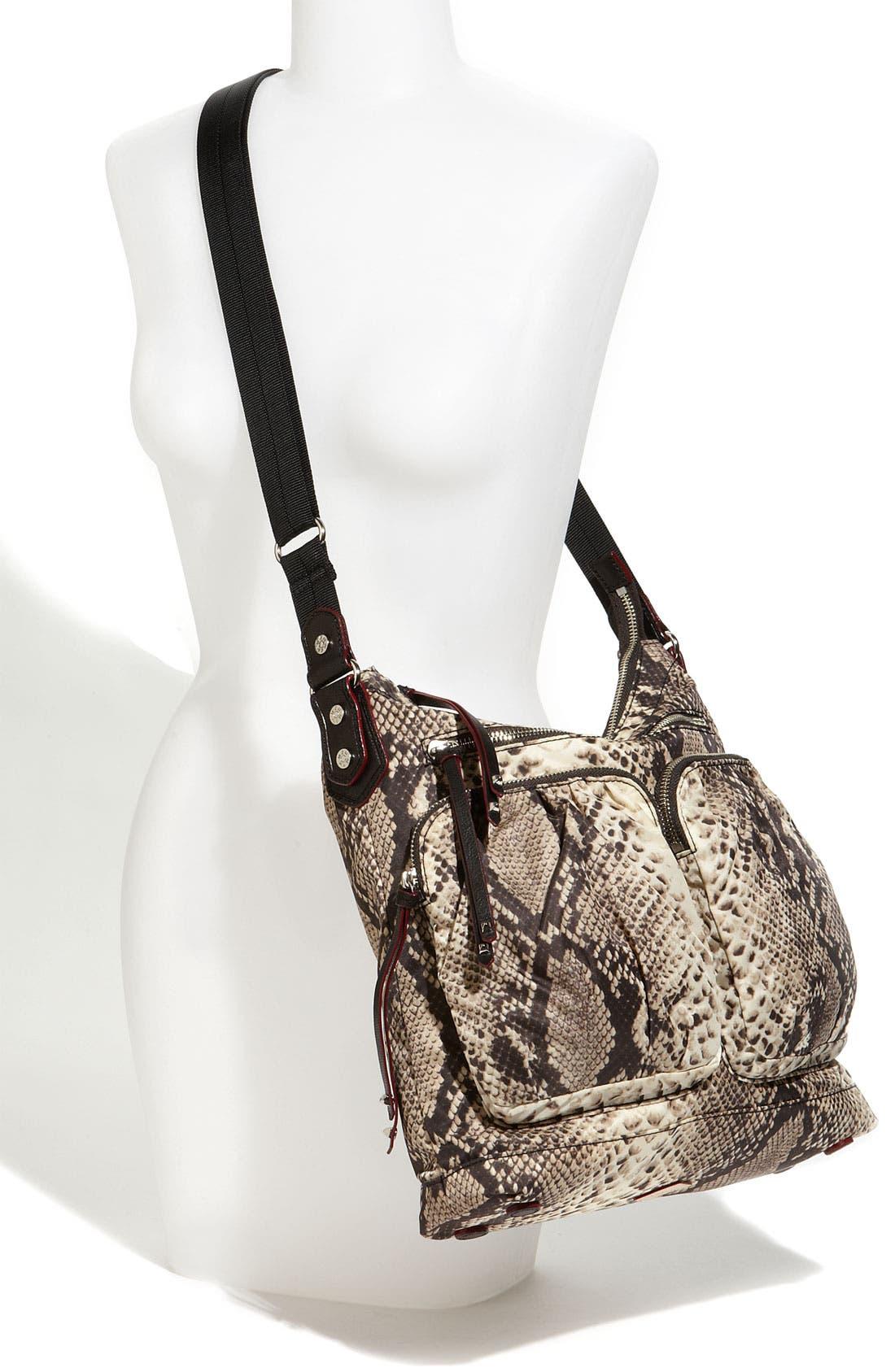 Alternate Image 2  - M Z Wallace 'Mia' Snake Print Crossbody Bag