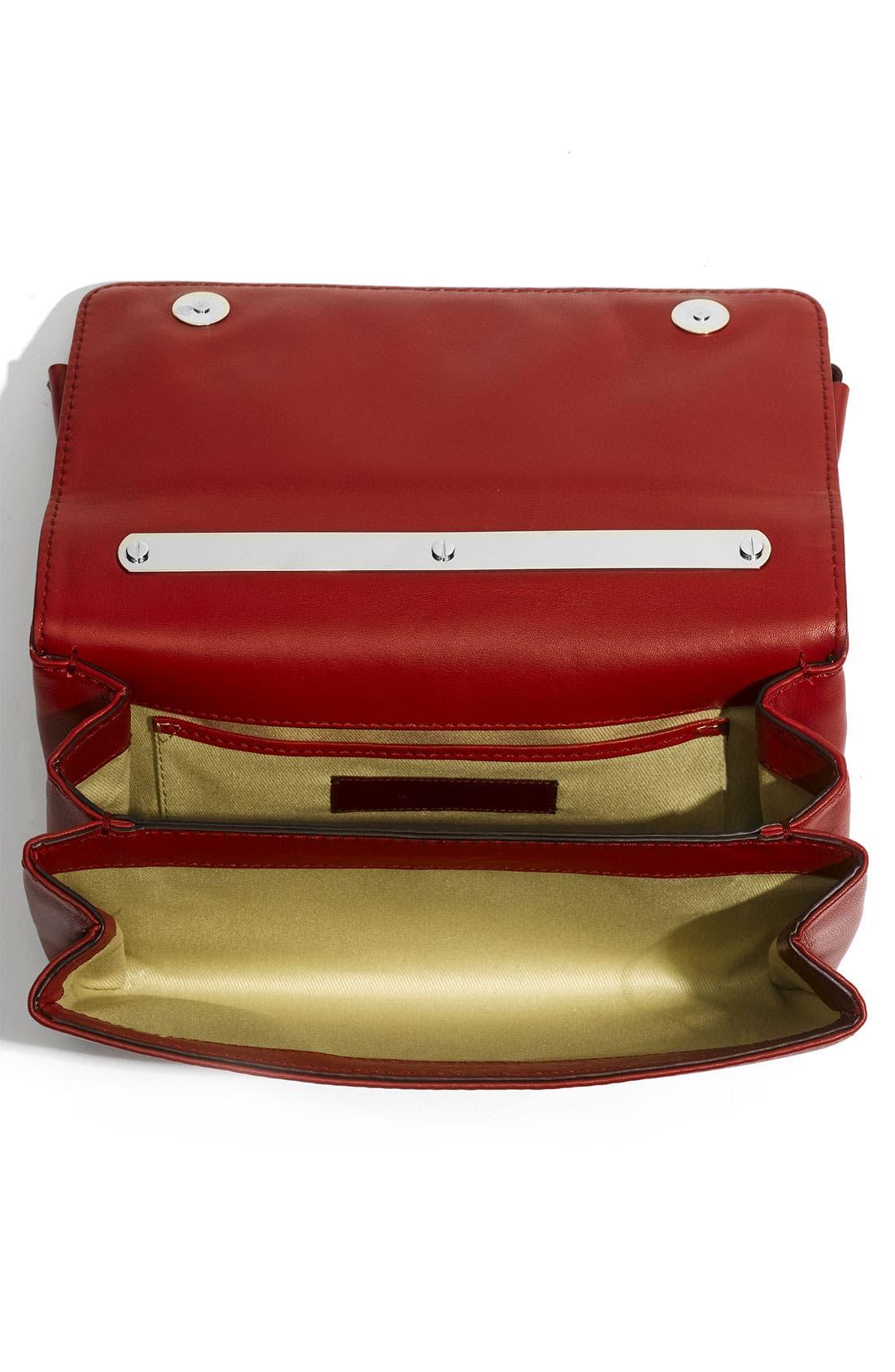 Alternate Image 3  - Valentino 'Bow Flap' Leather Shoulder Bag