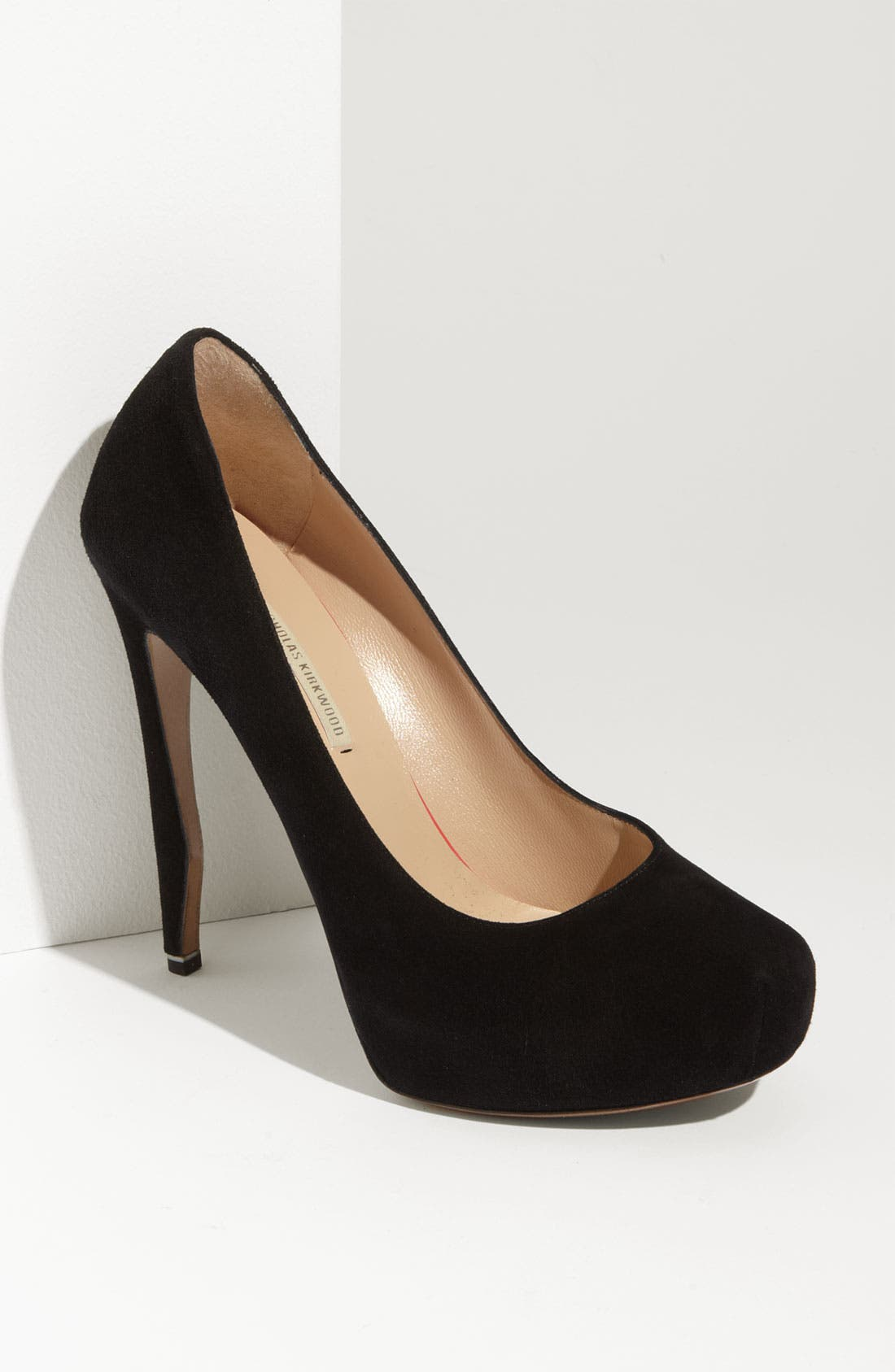Alternate Image 1 Selected - Nicholas Kirkwood Sculpted Heel Platform Pump