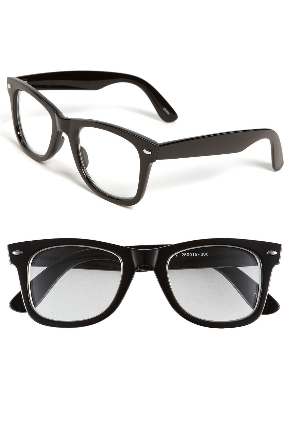 Alternate Image 1 Selected - Icon Eyewear 'Hank' Clear Sunglasses (Big Boys)