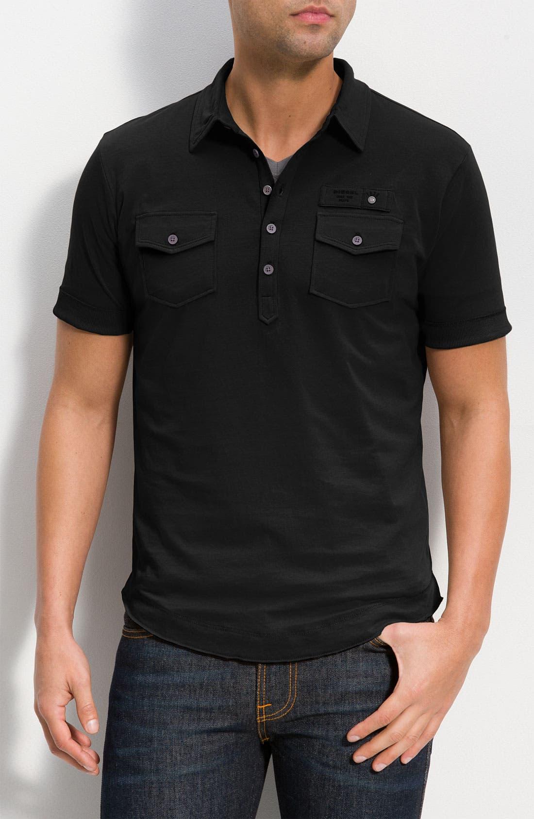 Main Image - DIESEL® 'T-Maya-RS' Jersey Polo