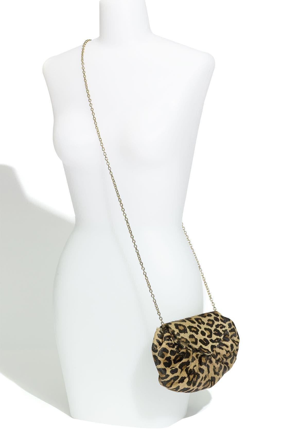 Alternate Image 2  - Lauren Merkin 'Diana' Leopard Print Clutch