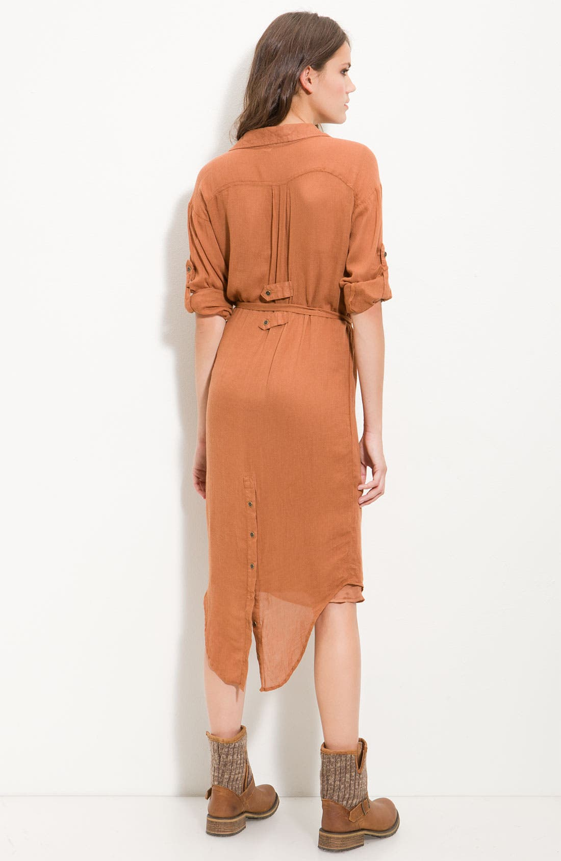 Alternate Image 2  - Free People 'Casual Friday' Campaign Shirt Dress