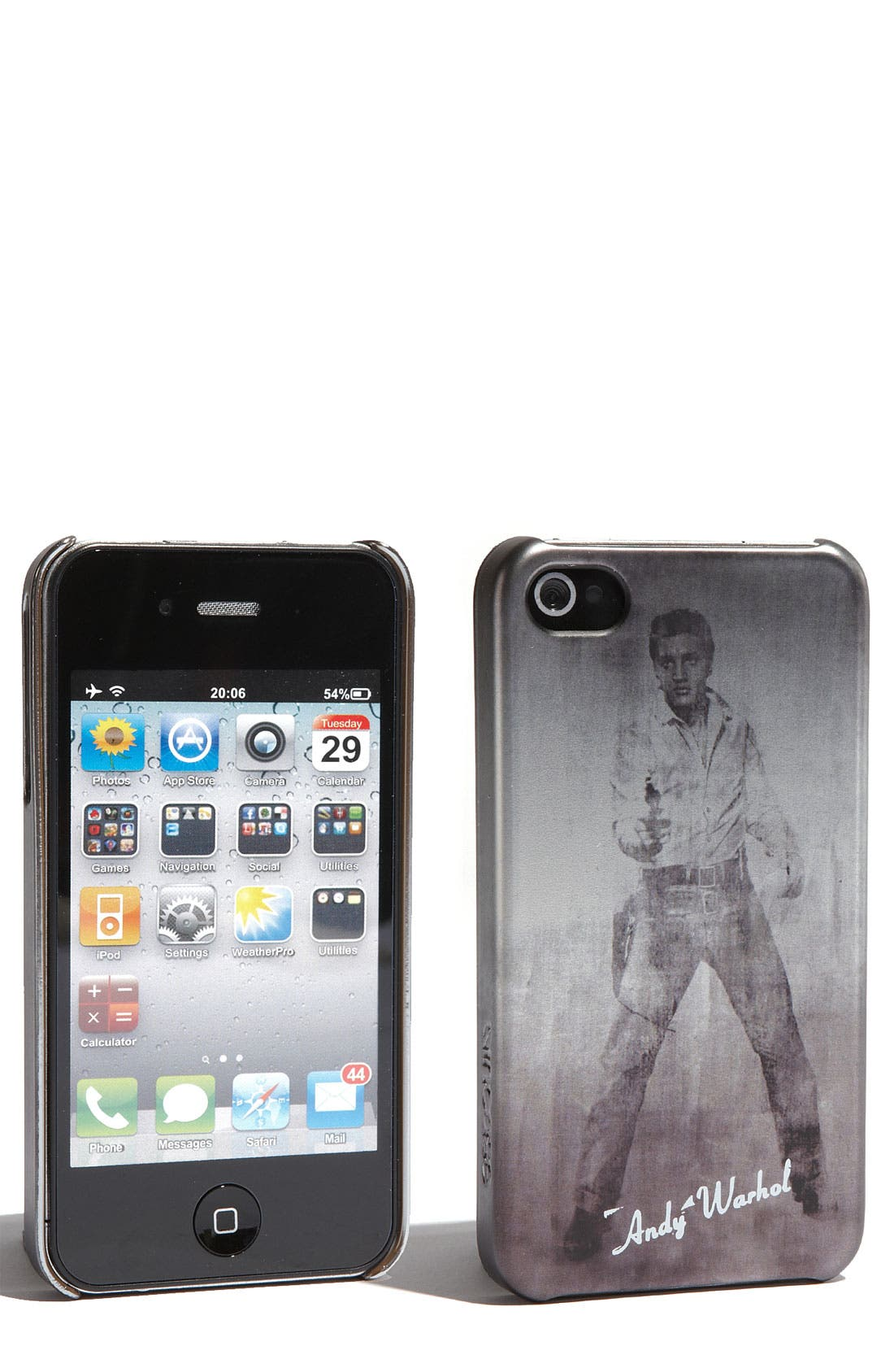 Alternate Image 1 Selected - Incase Designs 'Andy Warhol - Elvis' iPhone 4 & 4S Case