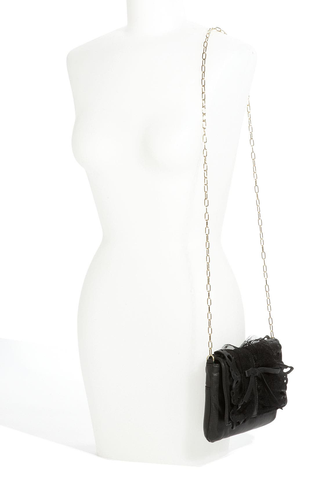 Alternate Image 2  - RED Valentino 'Lace Ruffle' Clutch