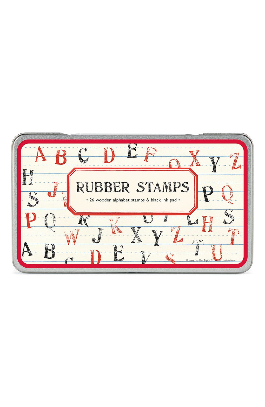 Alternate Image 1 Selected - Cavallini & Co. 'Alphabet' Rubber Stamps