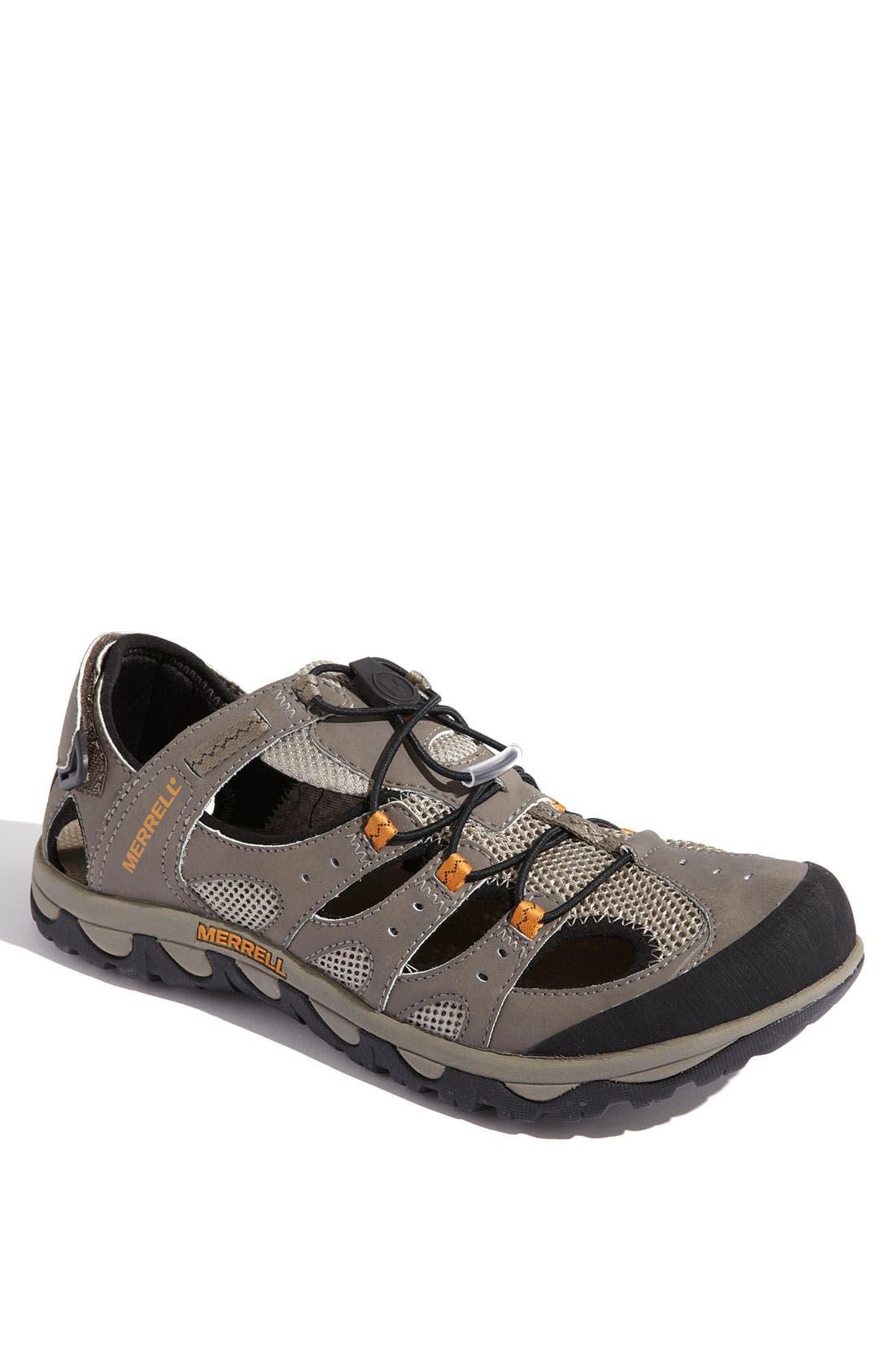 Alternate Image 1 Selected - Merrell 'Portage Web' Water Shoe (Men)