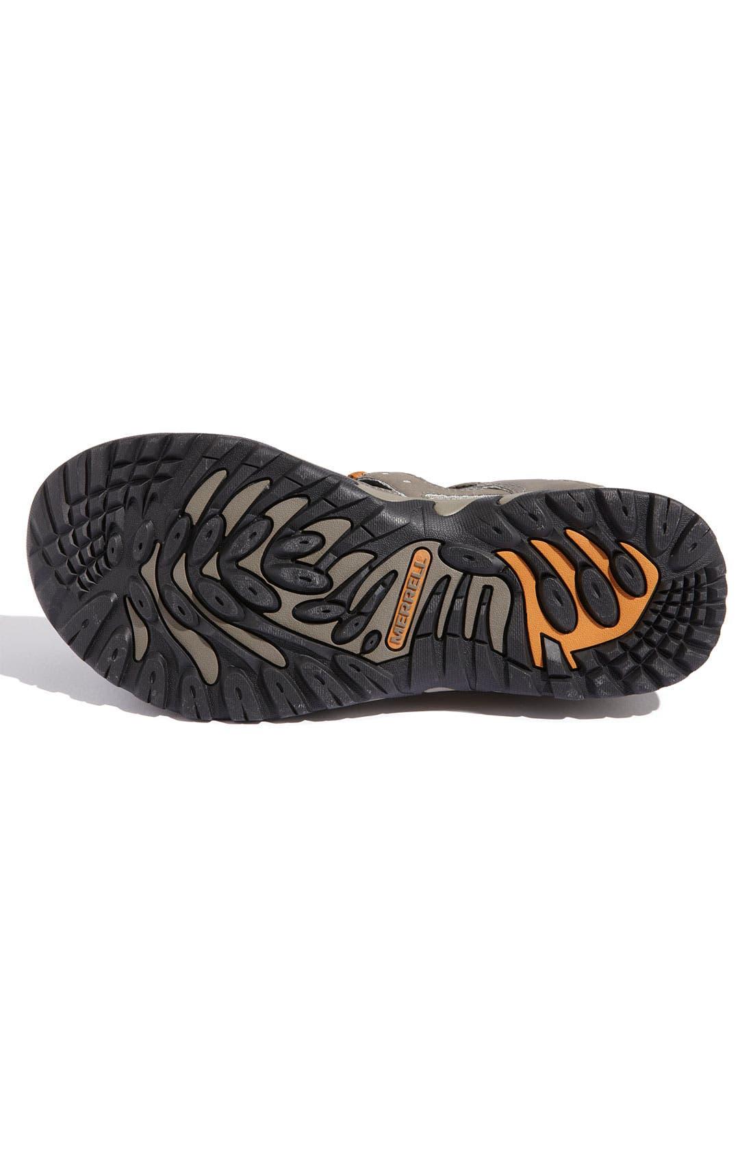 Alternate Image 4  - Merrell 'Portage Web' Water Shoe (Men)