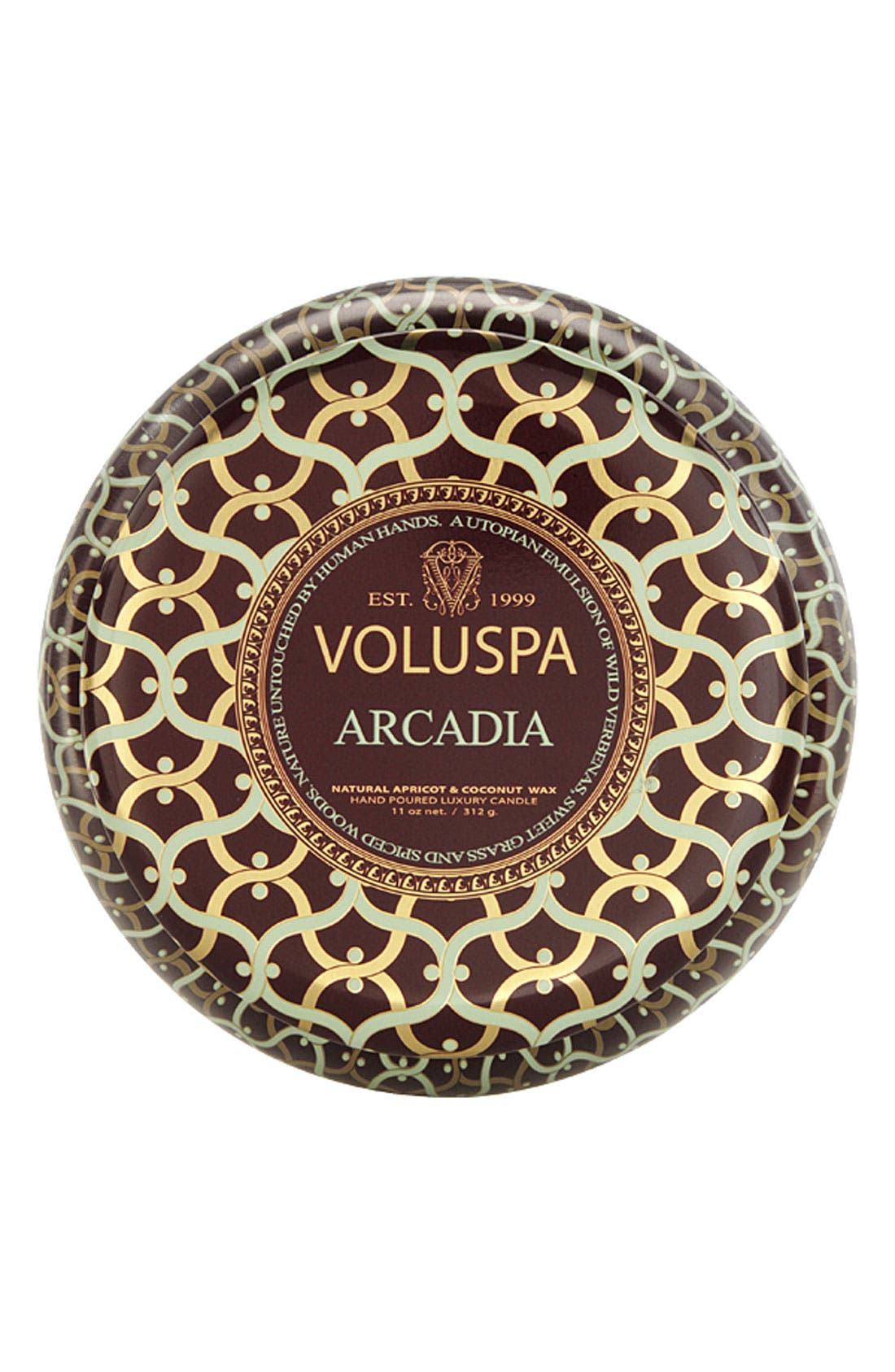 Main Image - Voluspa 'Maison Rouge - Arcadia' 2-Wick Scented Candle