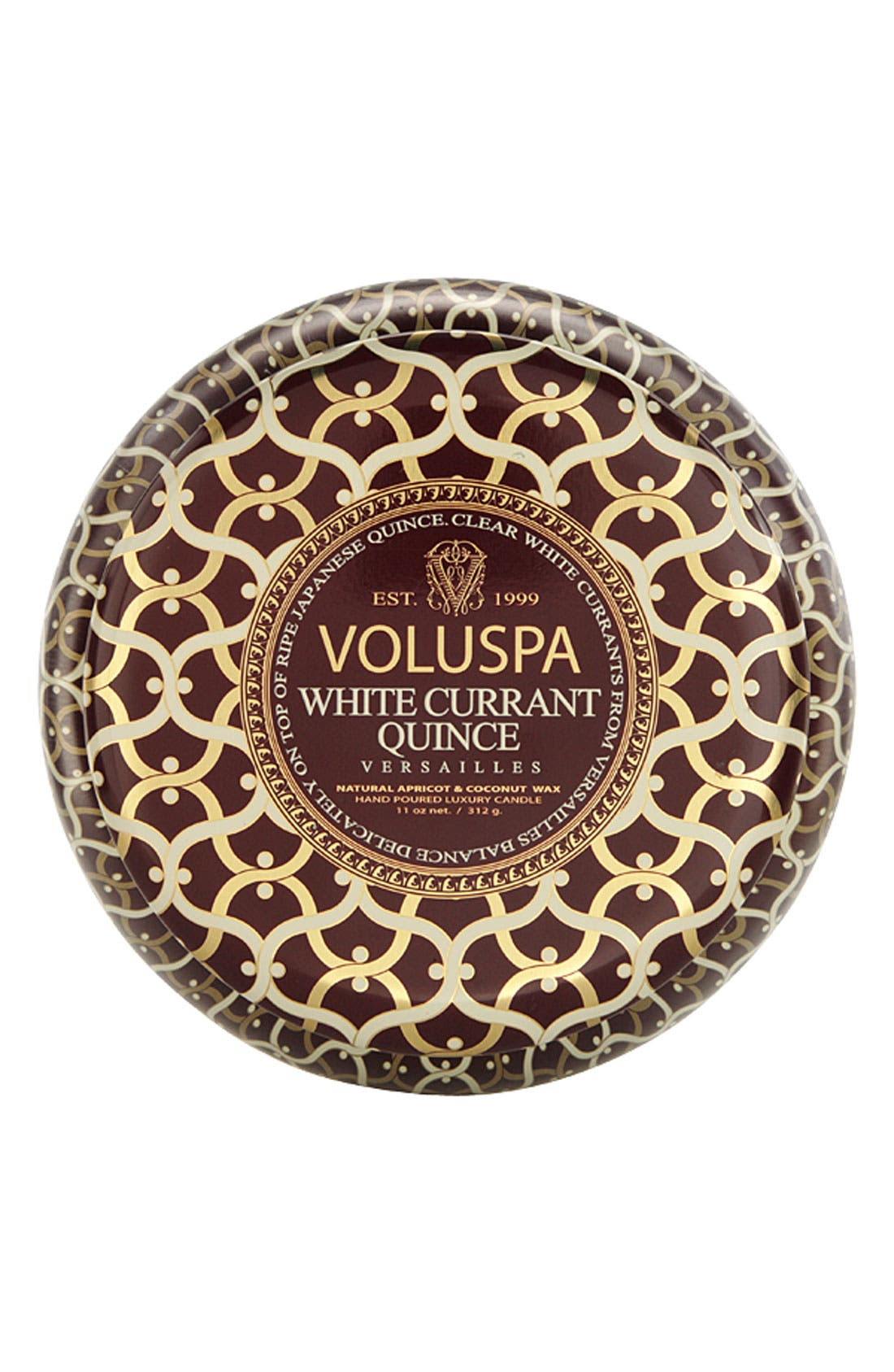 Main Image - Voluspa 'Maison Rouge - White Currant Quince' 2-Wick Scented Candle