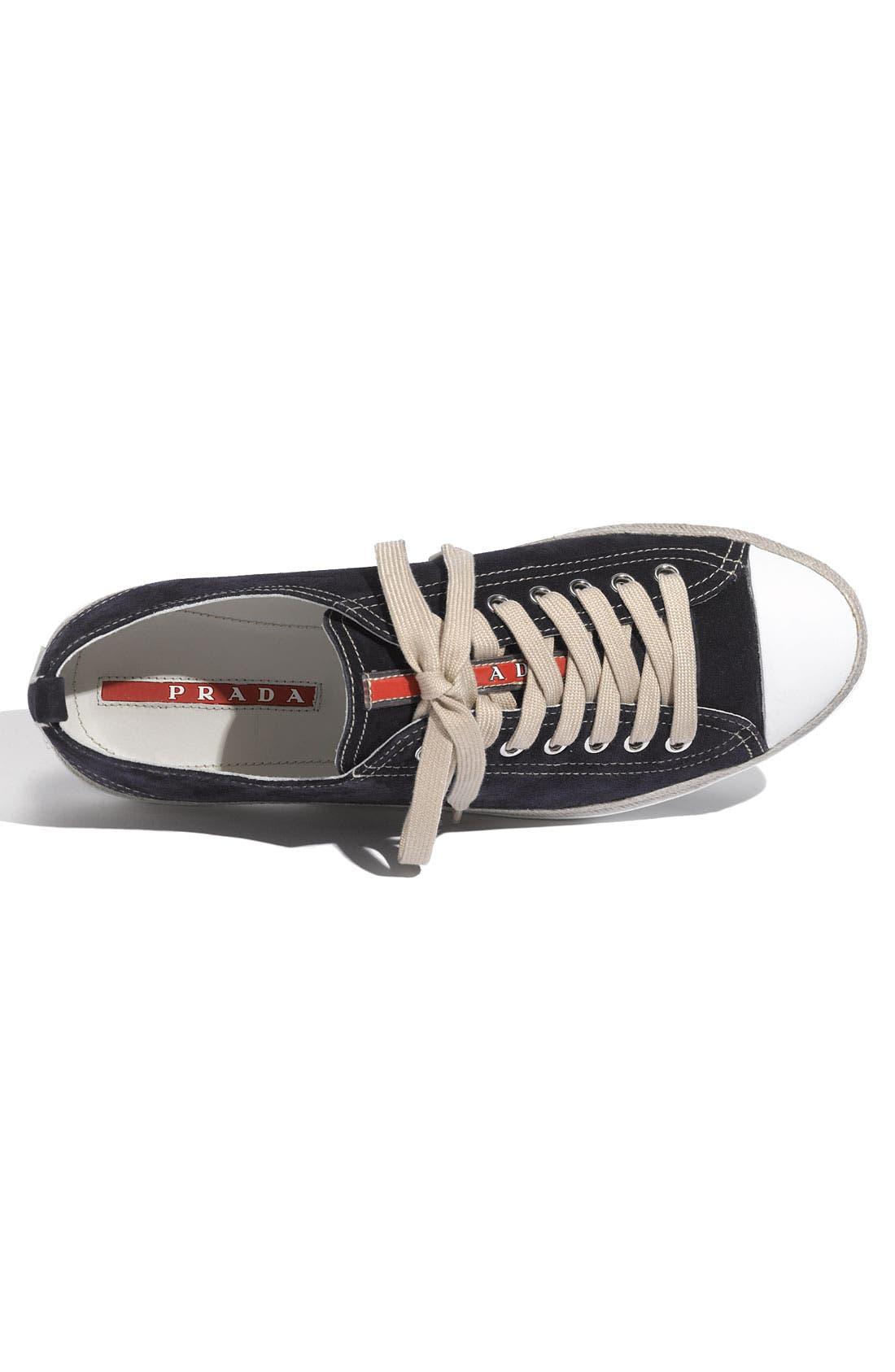 Alternate Image 3  - Prada Low Profile Espadrille Sneaker