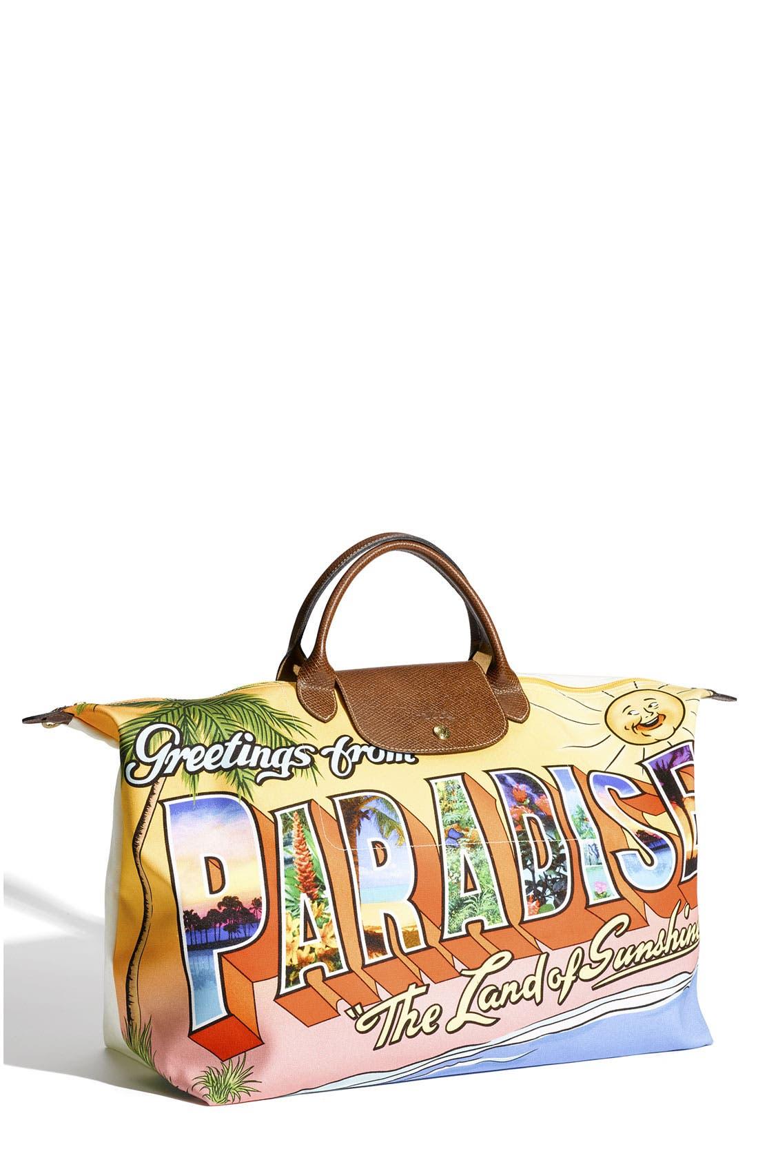 Main Image - Longchamp 'Jeremy Scott Paradise' Duffel