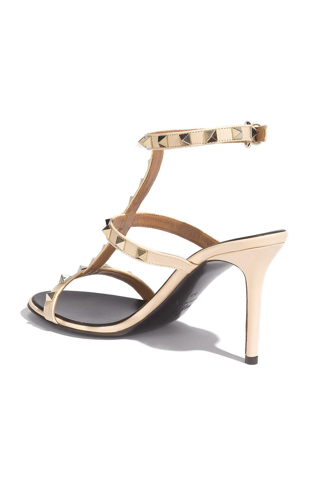 Alternate Image 2  - Valentino 'Rockstud' Sandal