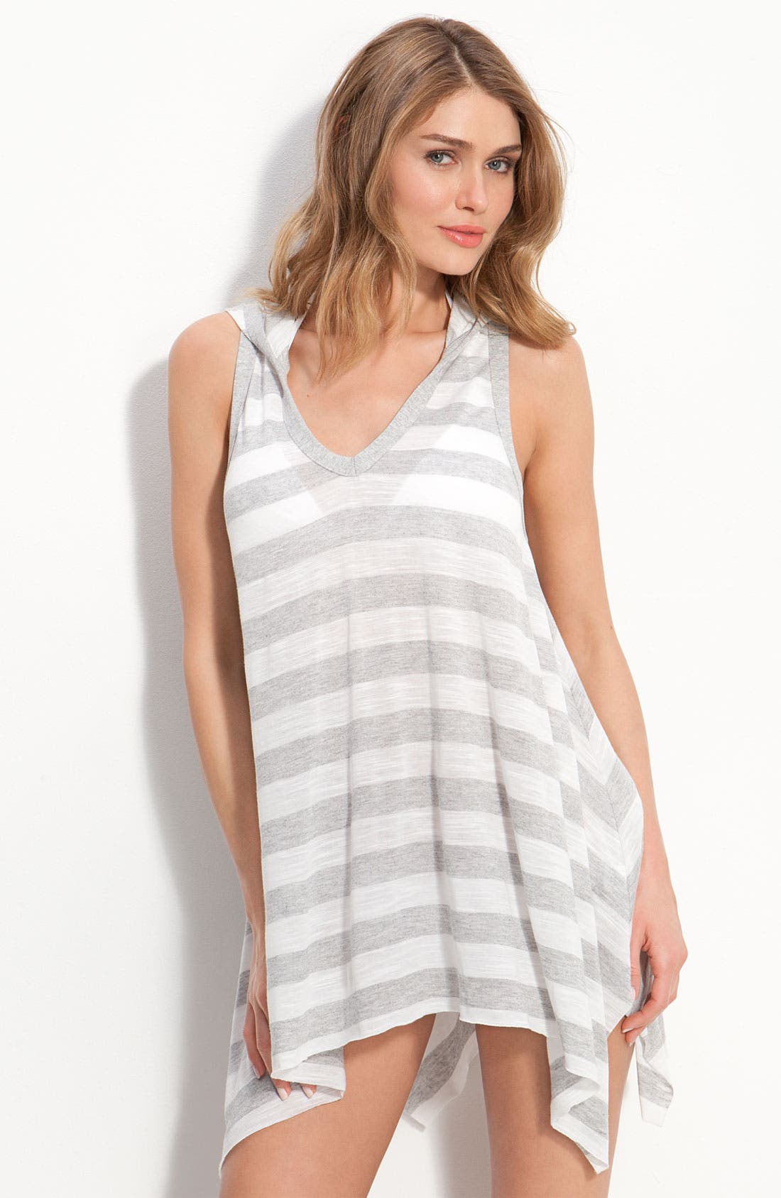 Alternate Image 1 Selected - Robin Piccone 'Ella' Hooded Dress Cover-Up