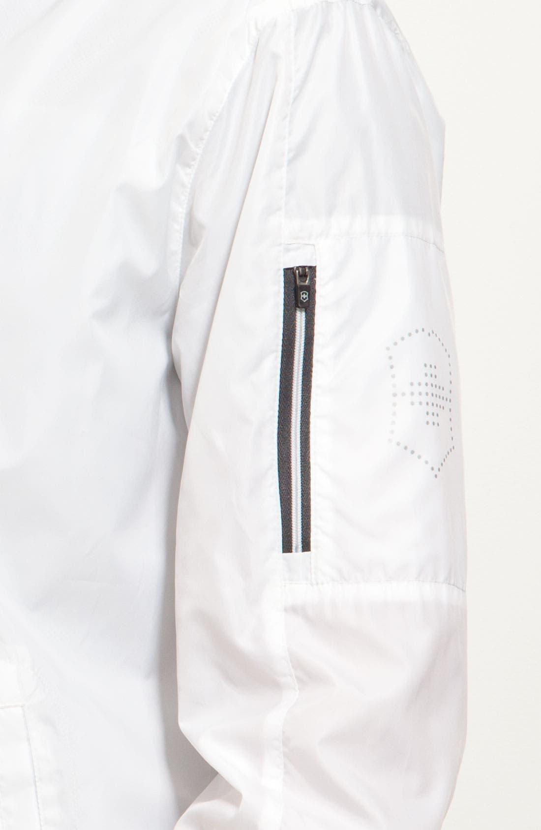 Alternate Image 3  - Victorinox Swiss Army® 'Clipper' Hooded Windbreaker