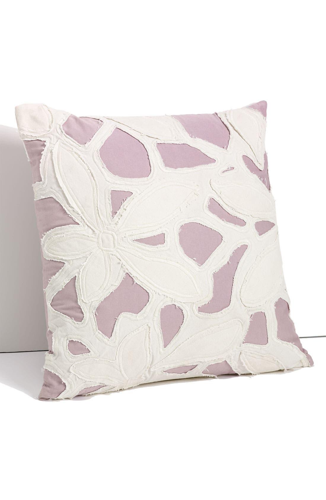 Alternate Image 1 Selected - Diane von Furstenberg Cutout Appliqué Pillow