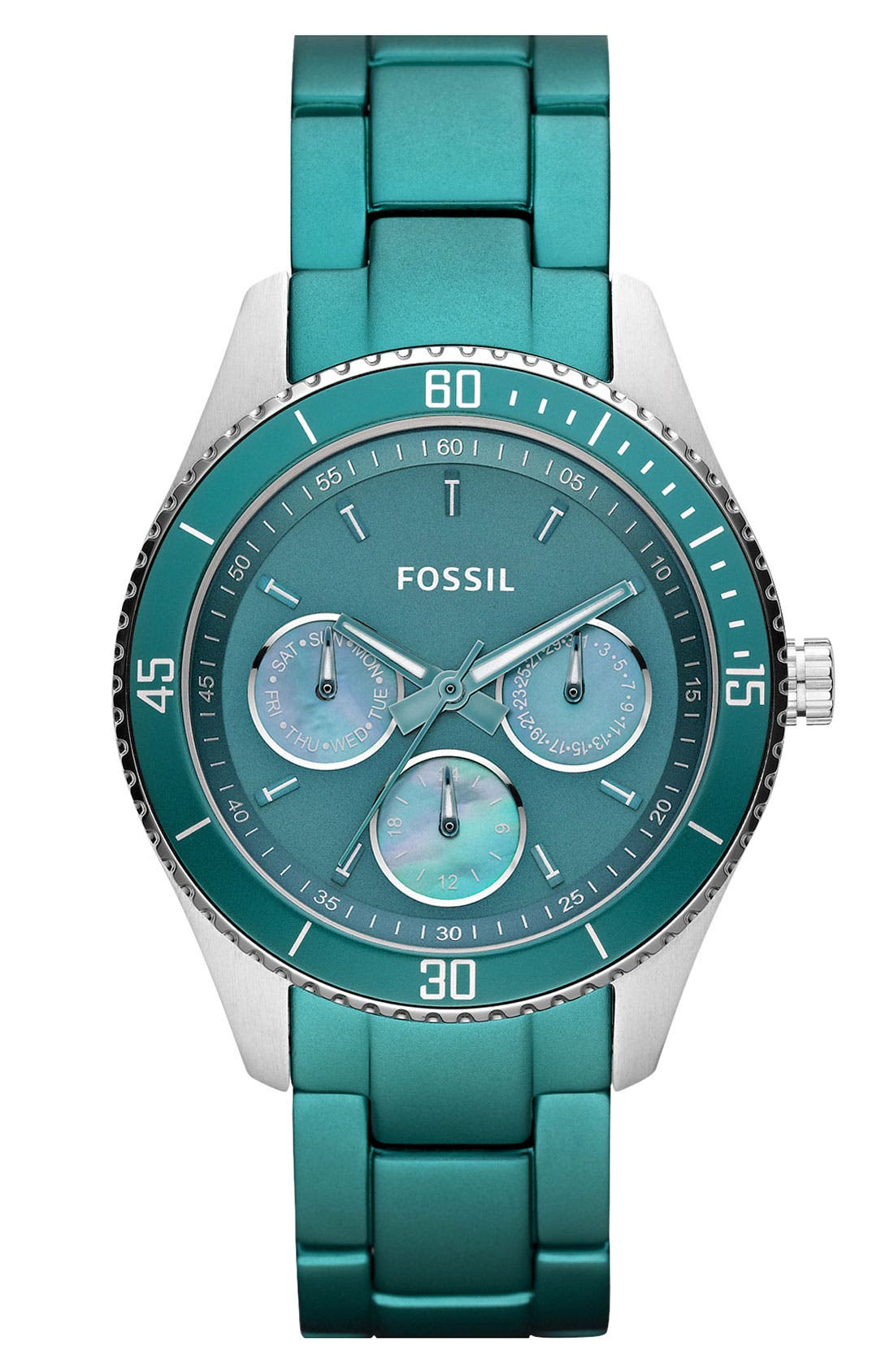 Alternate Image 1 Selected - Fossil 'Stella' Multifunction Watch