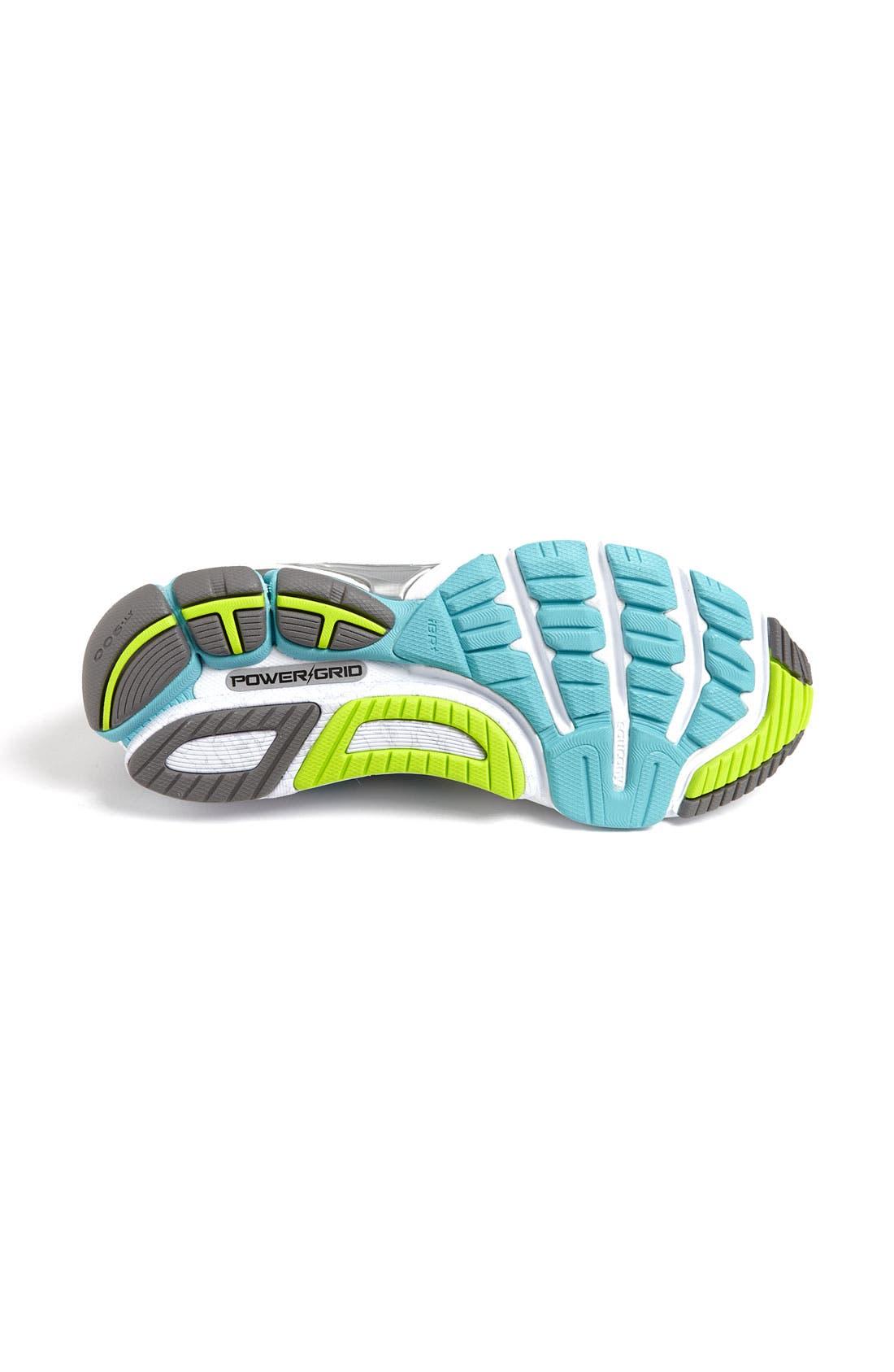 Alternate Image 4  - Saucony 'PowerGrid Hurricane 14' Running Shoe (Women)
