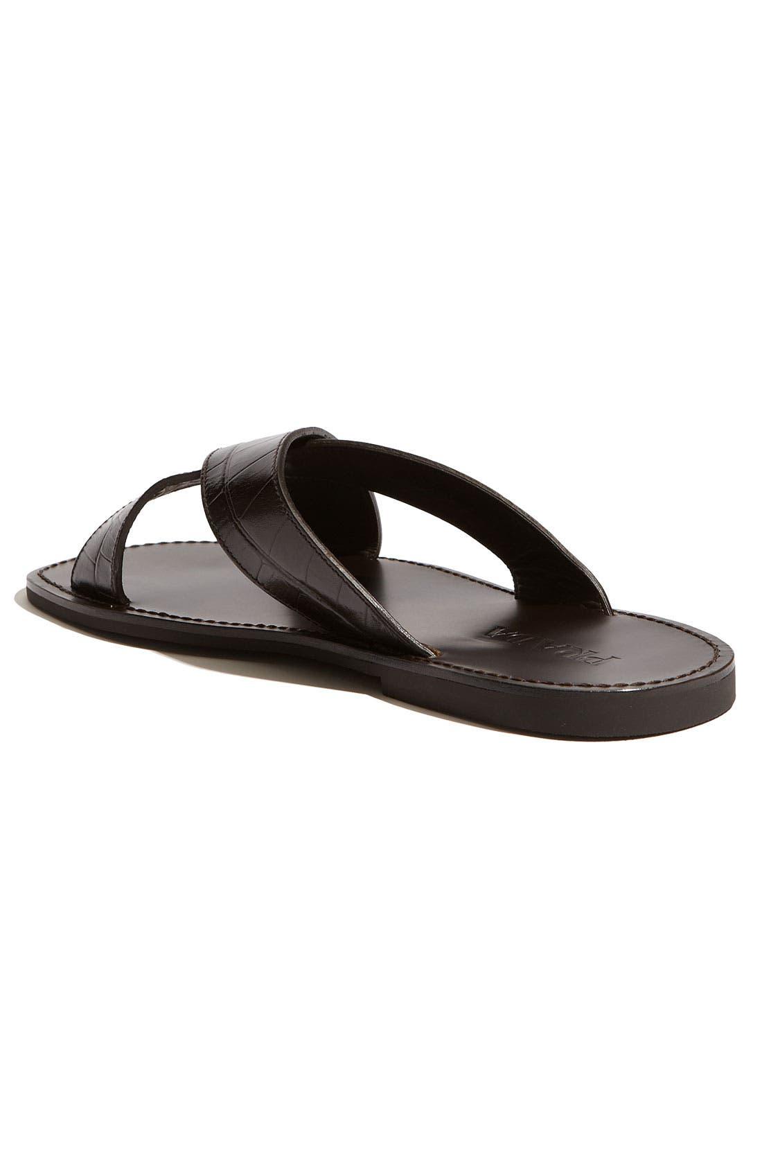 Alternate Image 2  - Prada Cross Strap Sandal